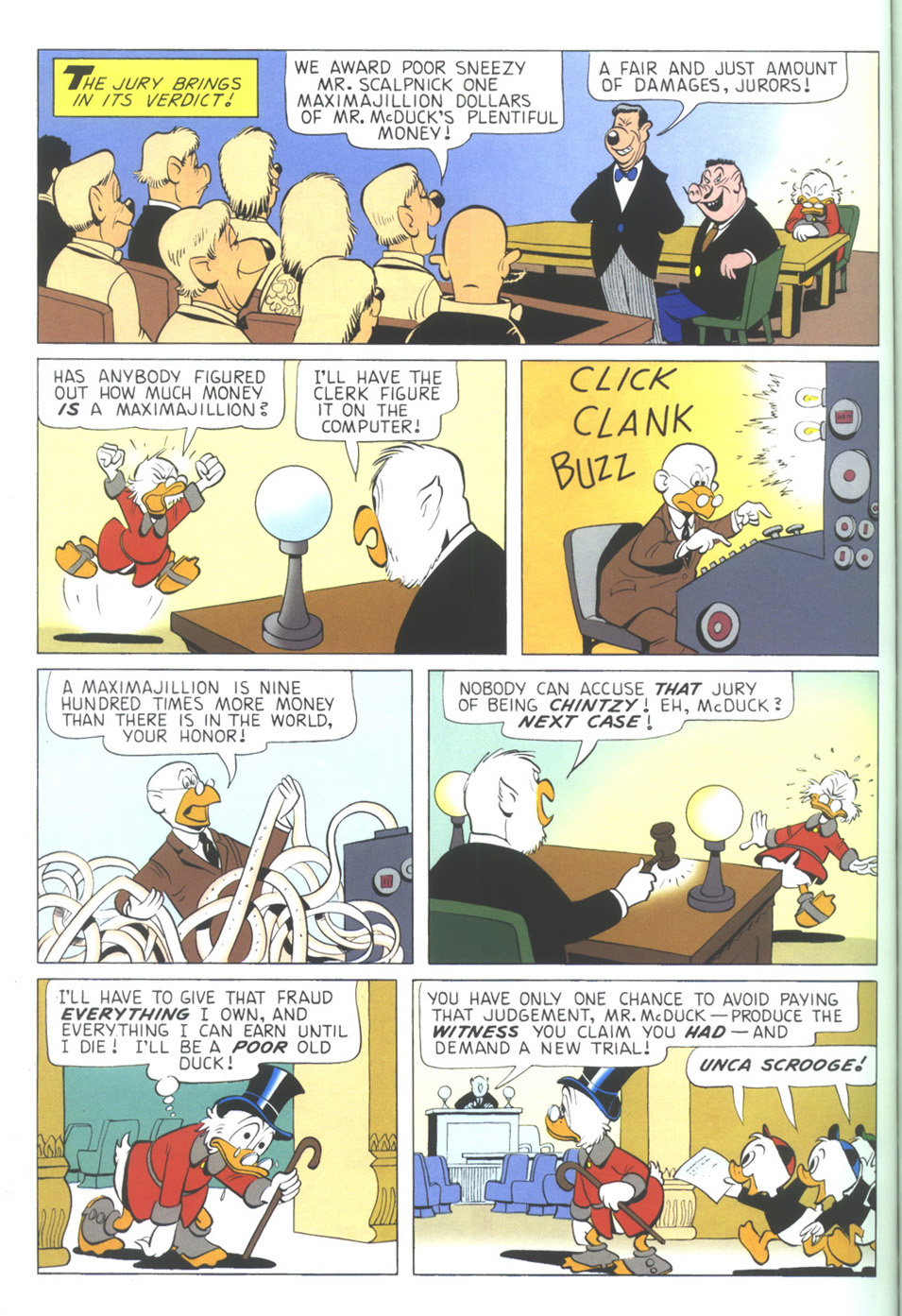 Uncle Scrooge (1953) Issue #339 #339 - English 56