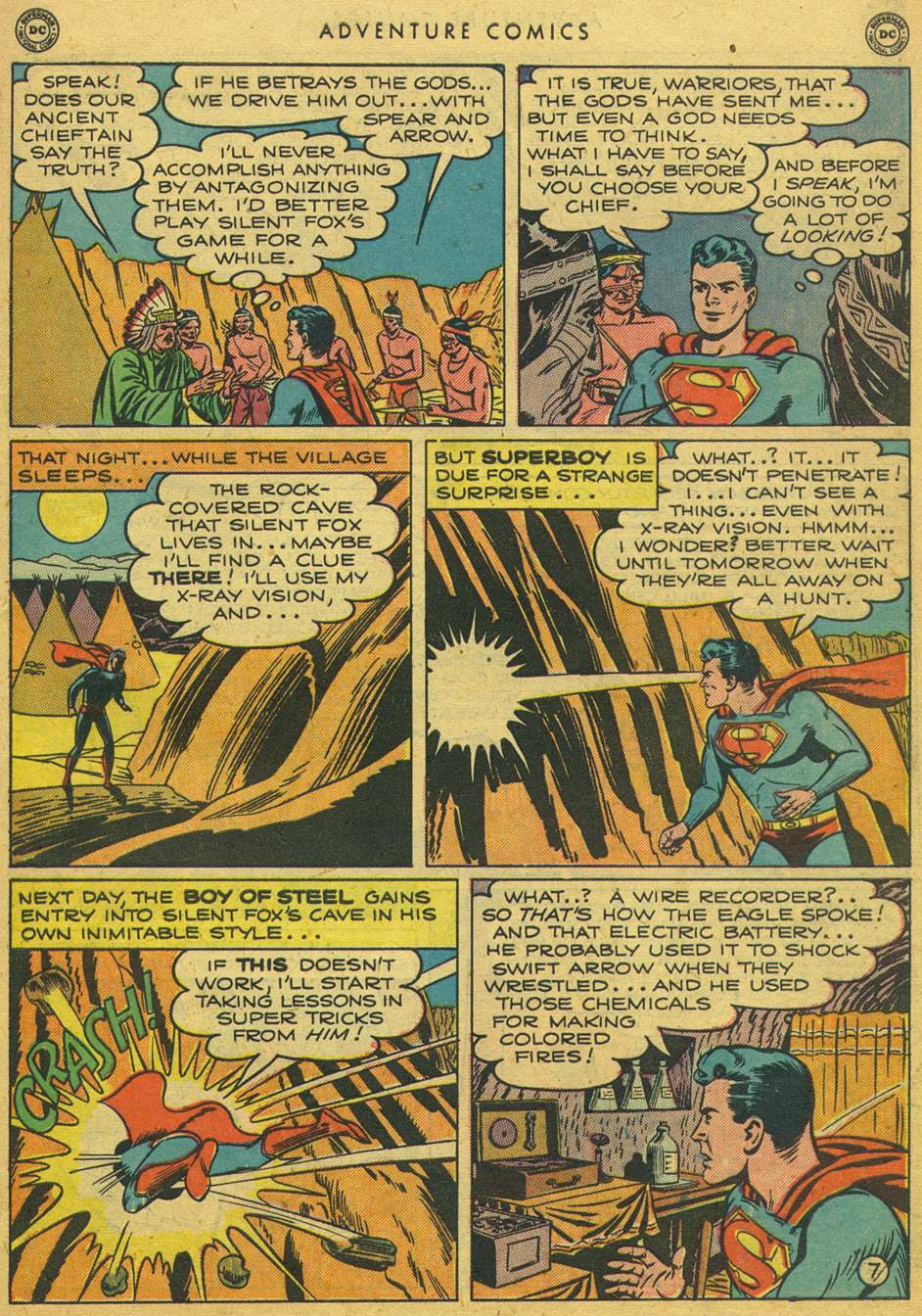 Read online Adventure Comics (1938) comic -  Issue #164 - 9