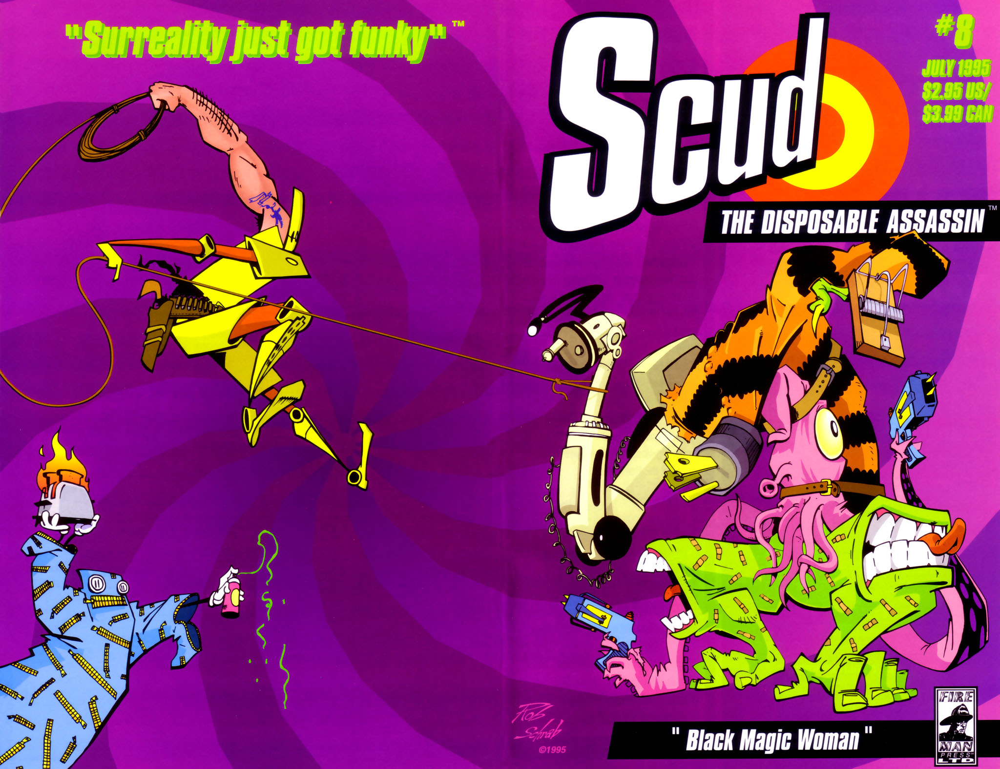 Read online Scud: The Disposable Assassin (1994) comic -  Issue #8 - 1