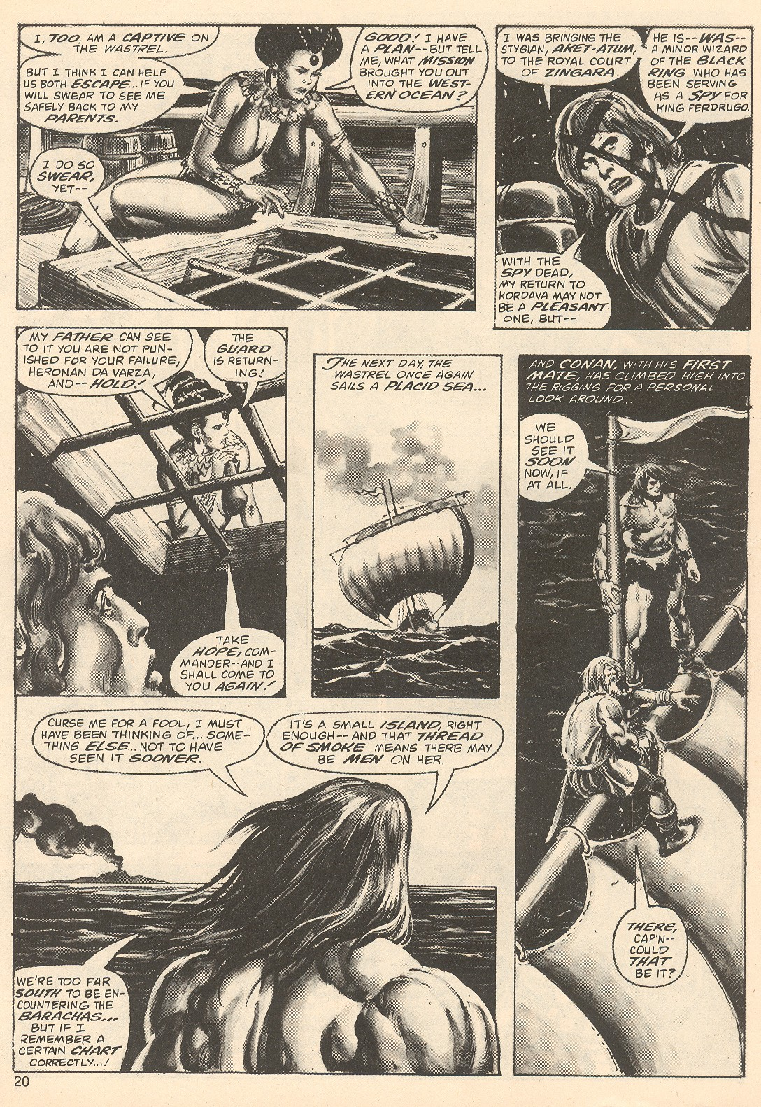 The Savage Sword Of Conan Issue #67 #68 - English 20