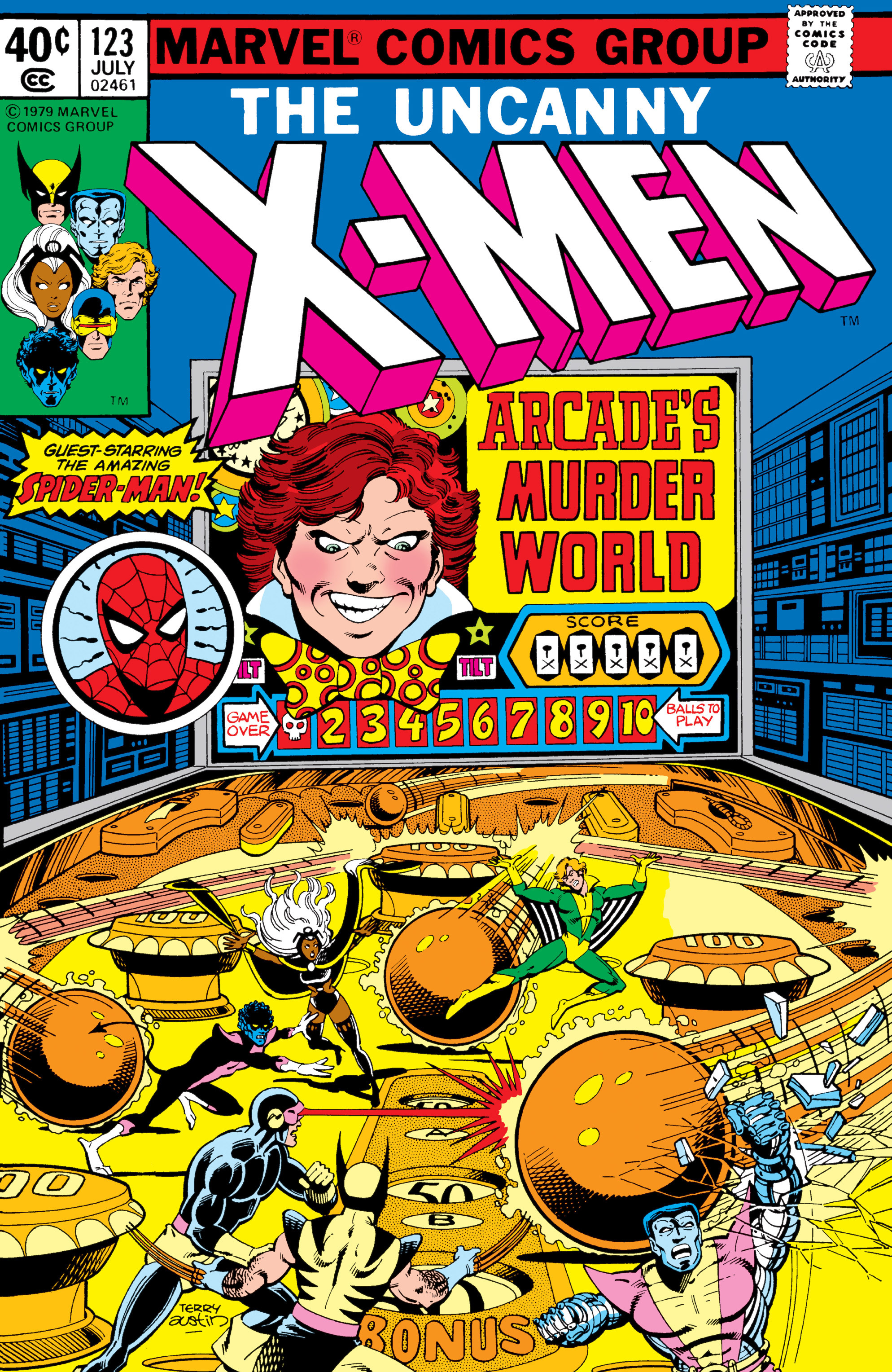 Uncanny X-Men (1963) 123 Page 1