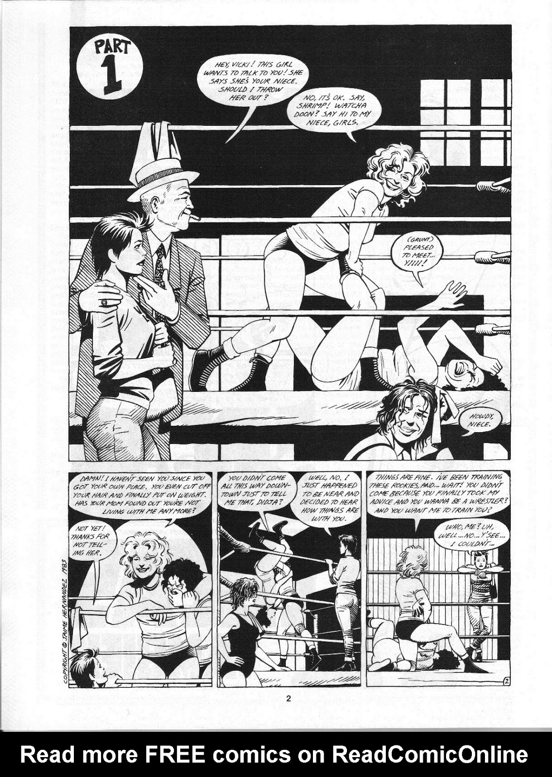 Love and Rockets (1982) Issue #4 #3 - English 4
