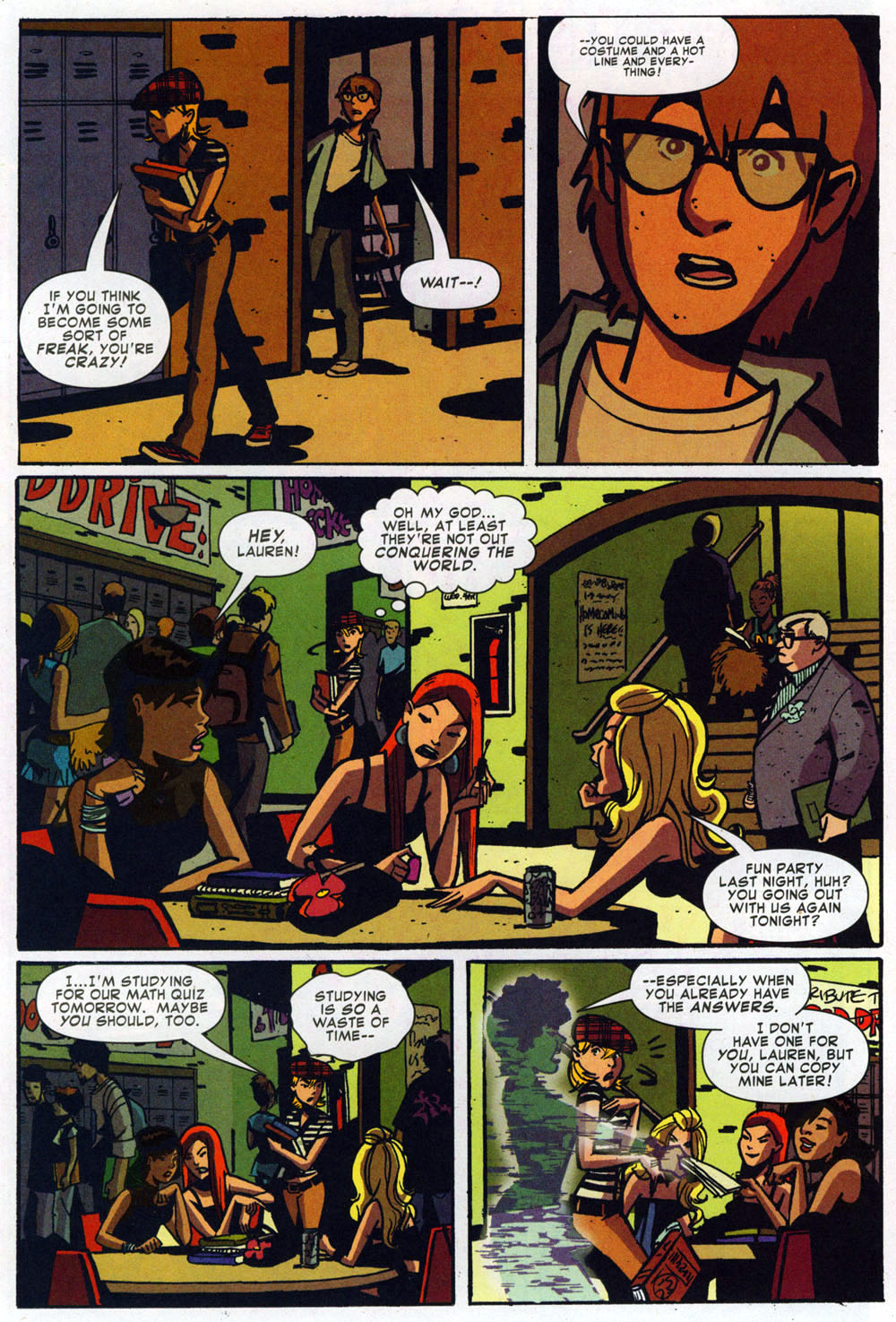 Read online Bad Girls comic -  Issue #1 - 22