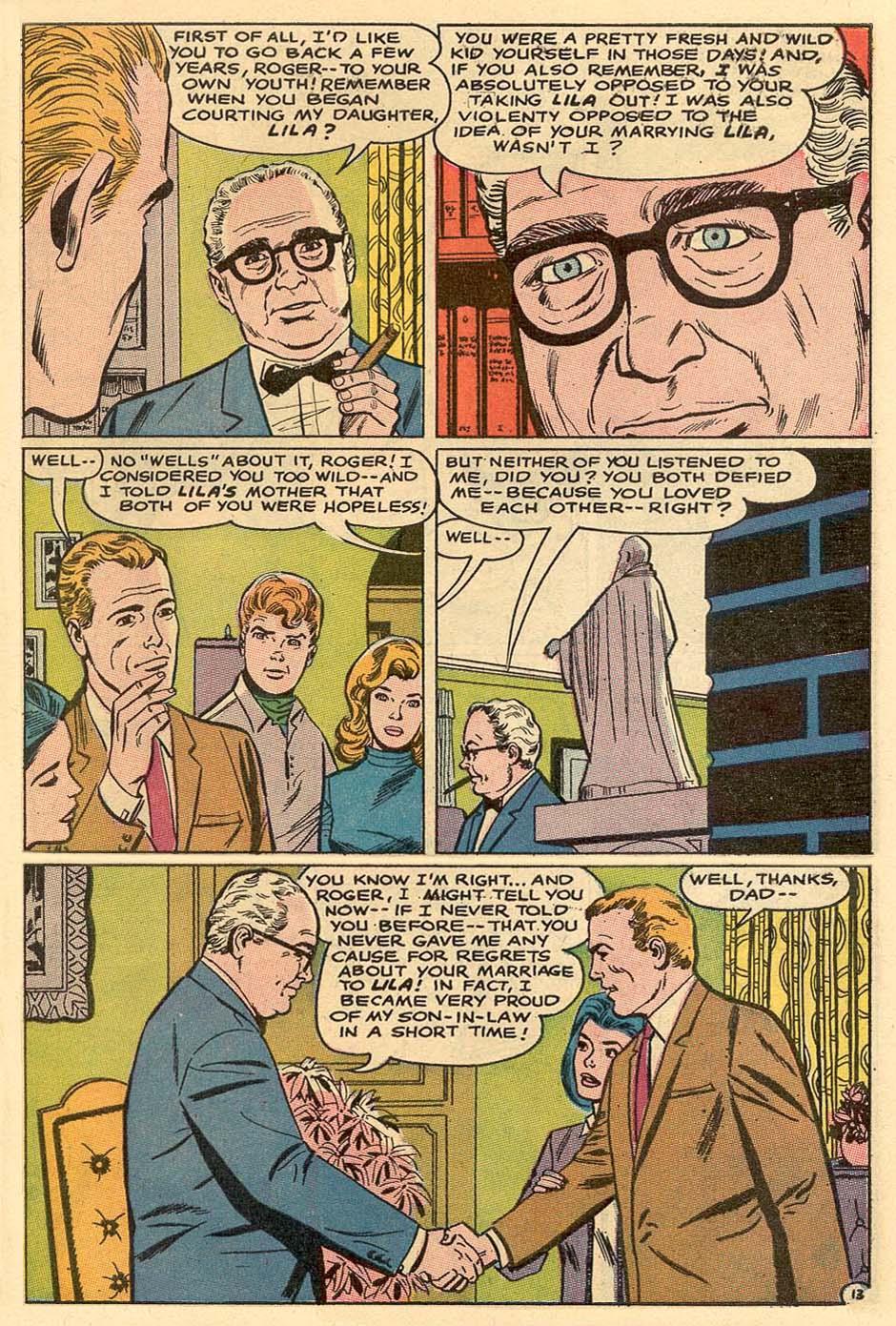 Read online Secret Hearts comic -  Issue #122 - 30