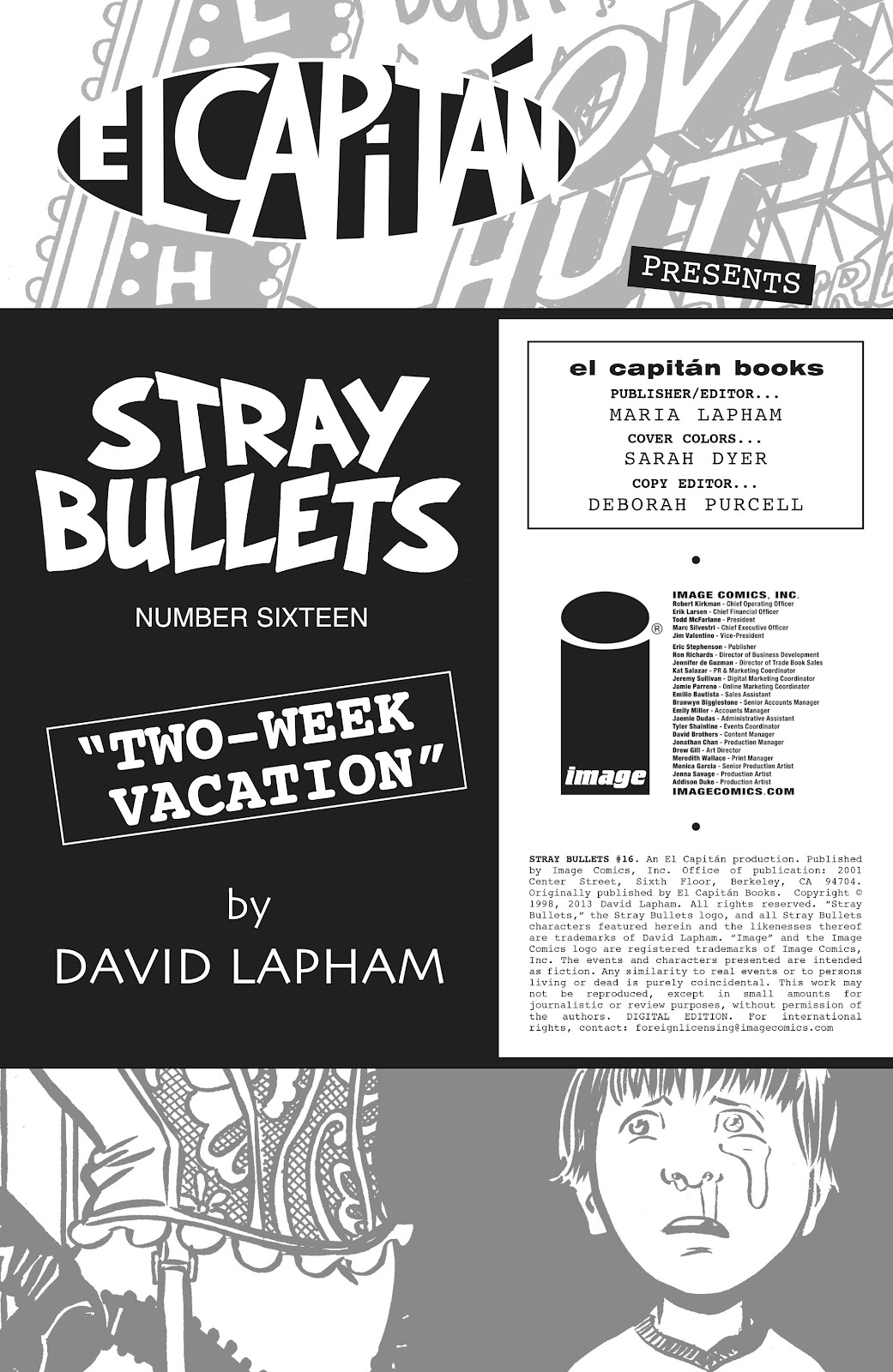 Stray Bullets Issue #16 #16 - English 2