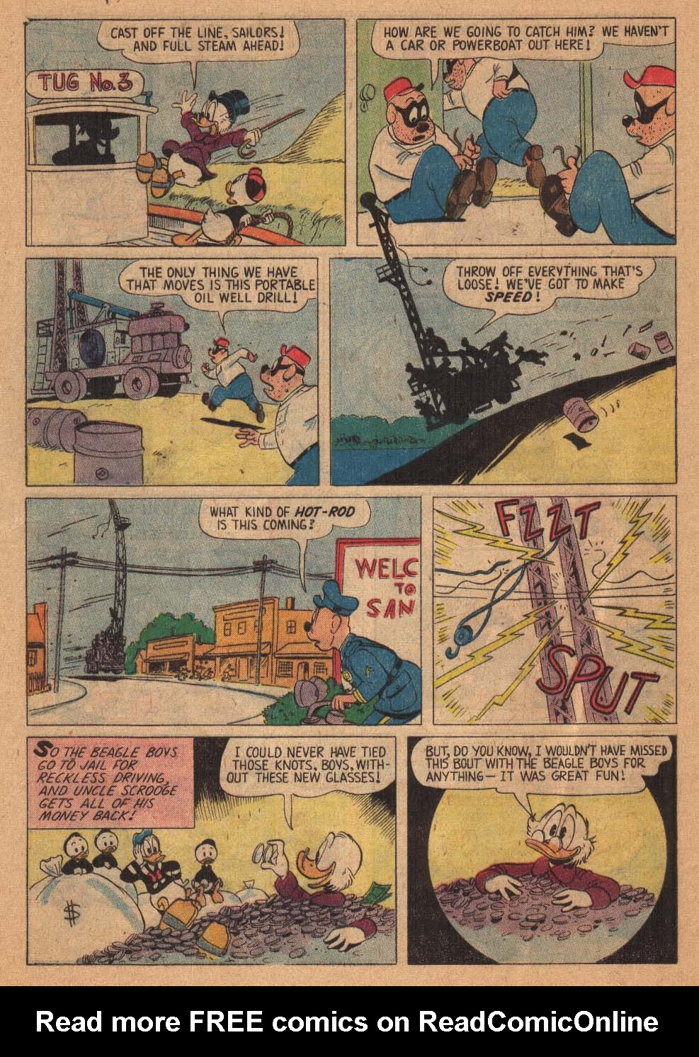 Uncle Scrooge (1953) Issue #21 #21 - English 28