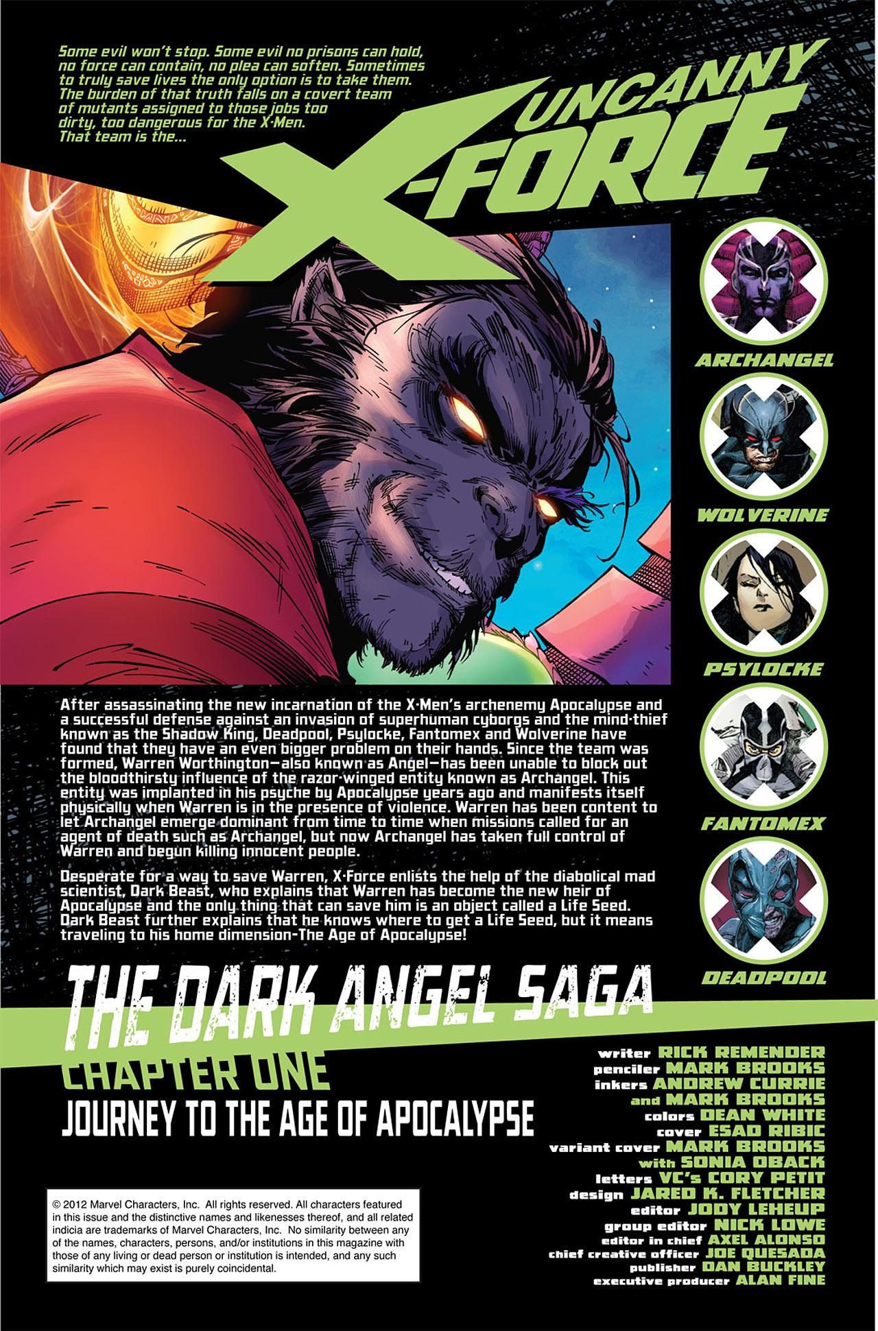 Uncanny X-Force (2010) #11 #26 - English 2