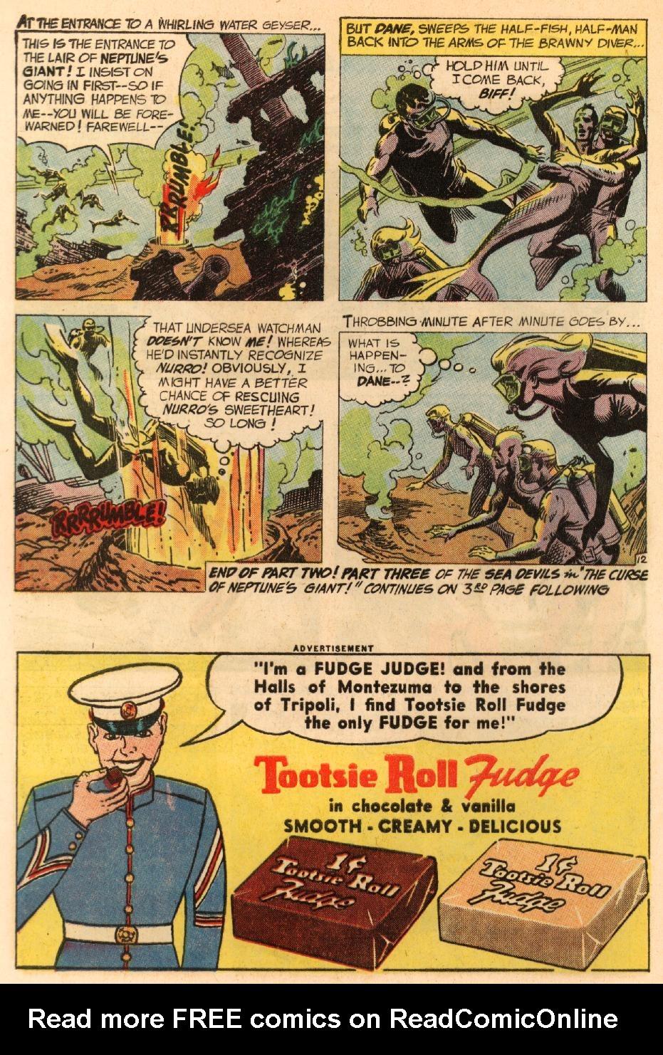 Read online Sea Devils comic -  Issue #8 - 17