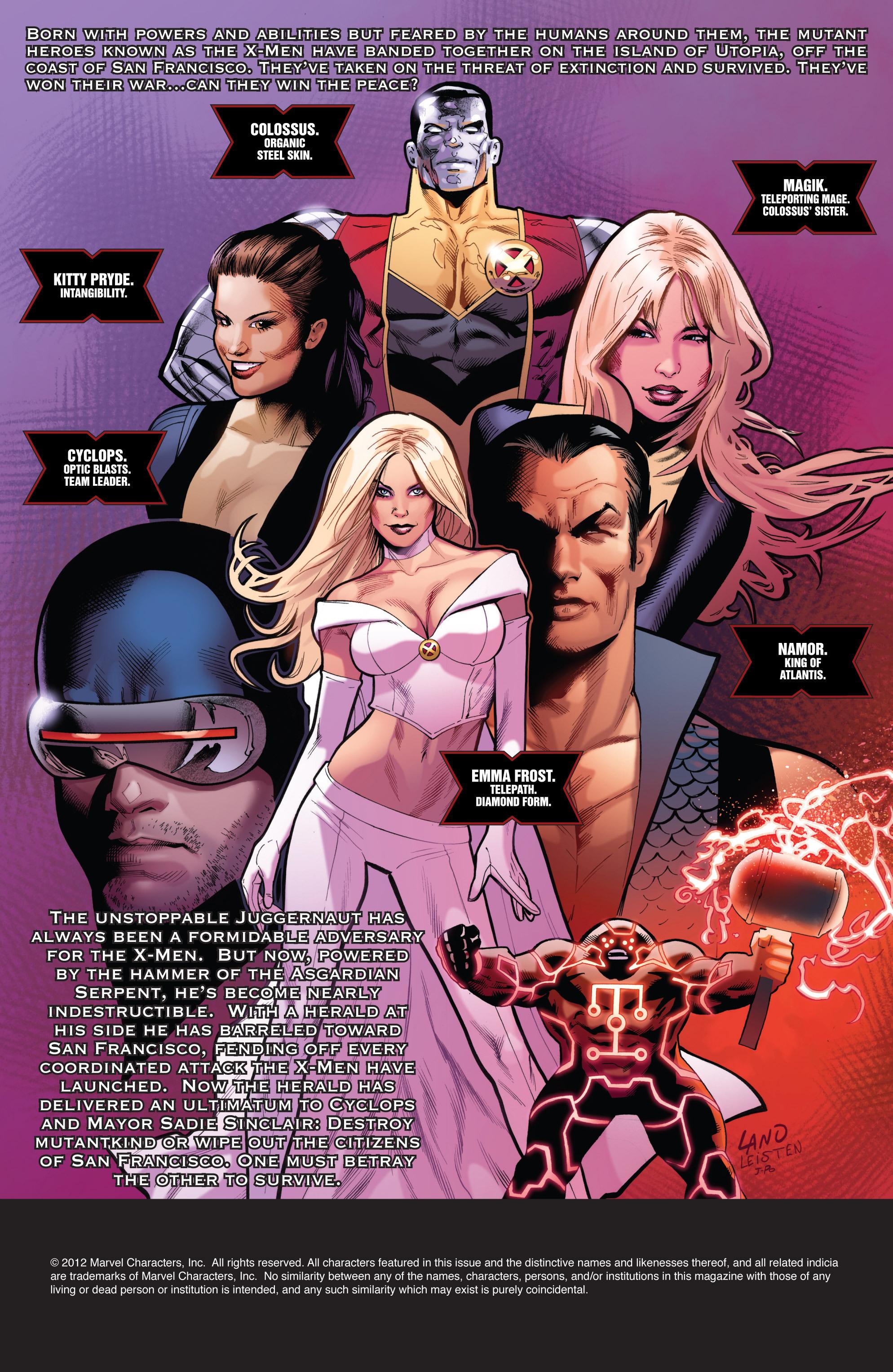 Uncanny X-Men (1963) 542 Page 1