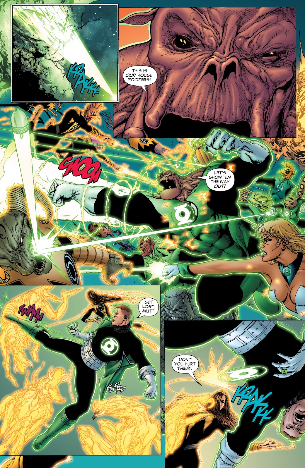Green Lantern: The Sinestro Corps War Full #1 - English 39
