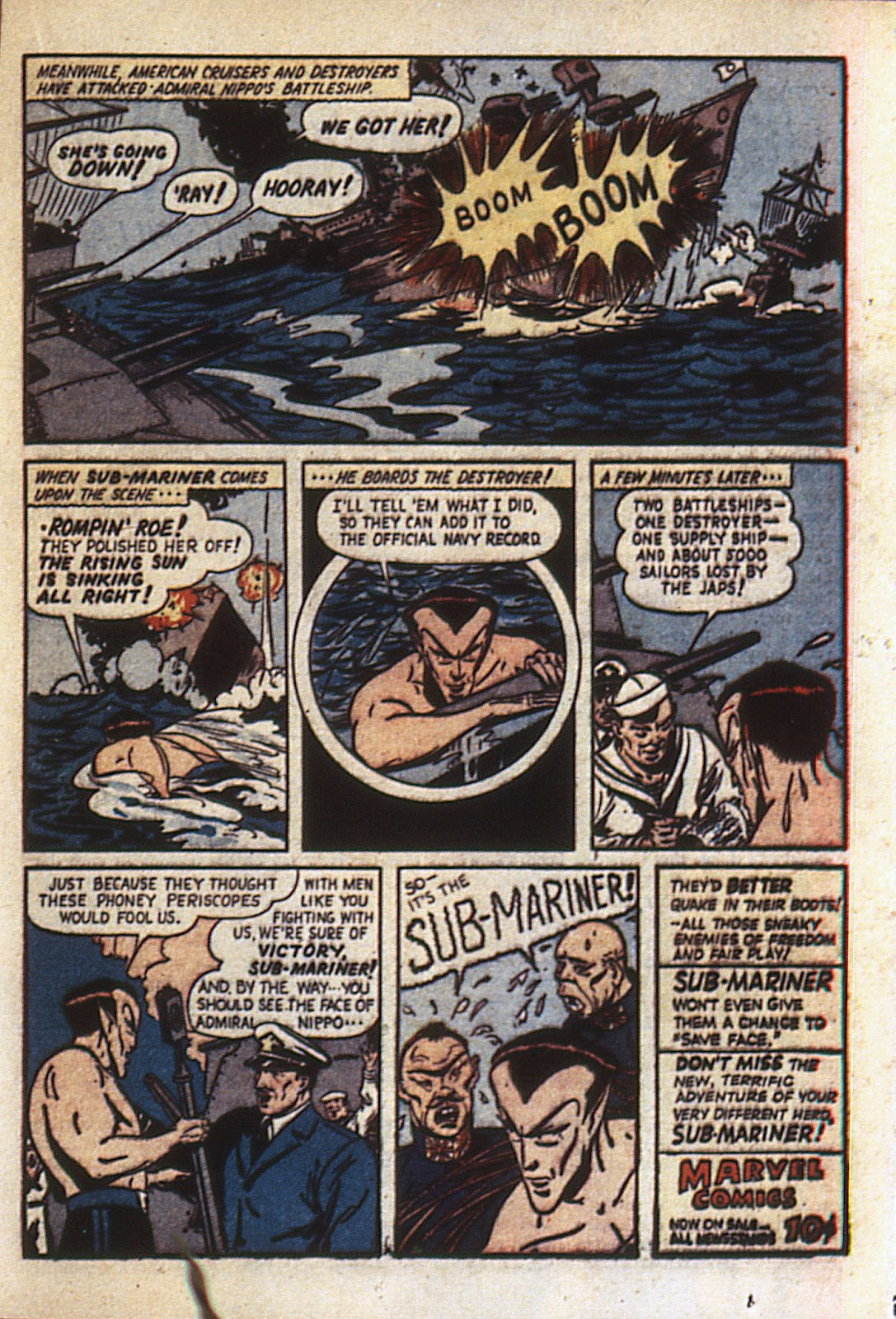 Sub-Mariner Comics Issue #6 #6 - English 42
