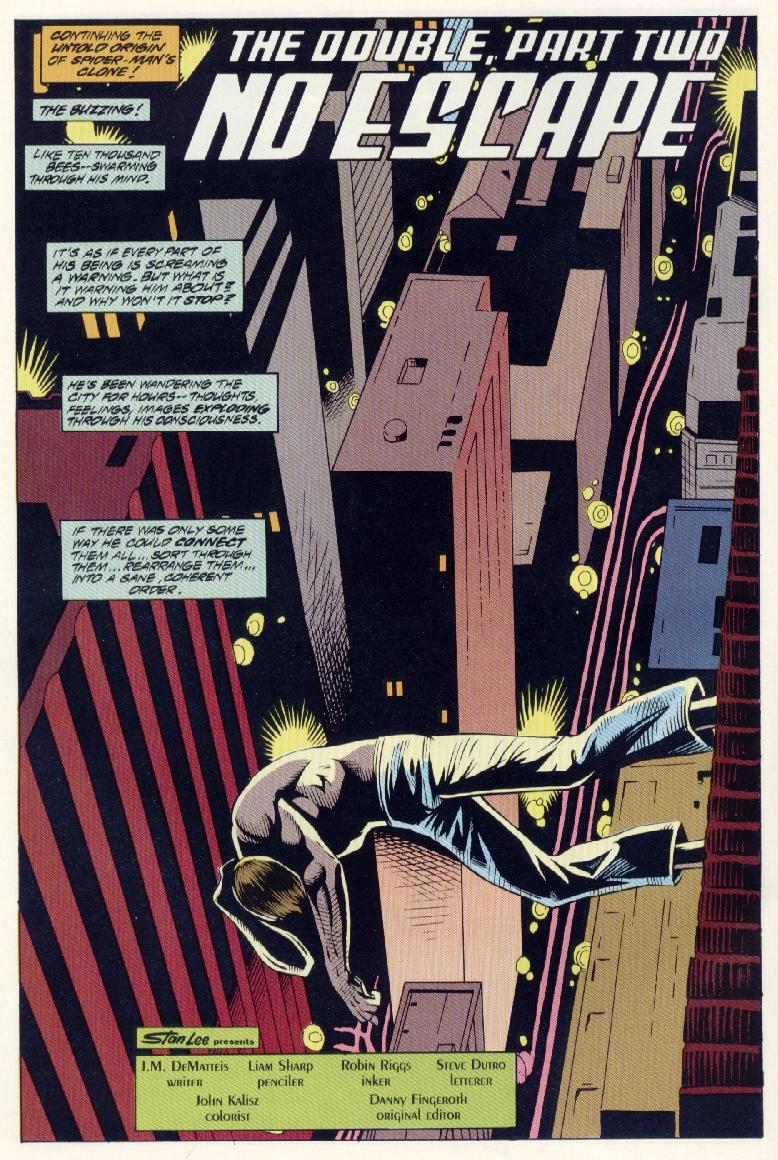 Read online Spider-Man: The Lost Years comic -  Issue #0 - 12