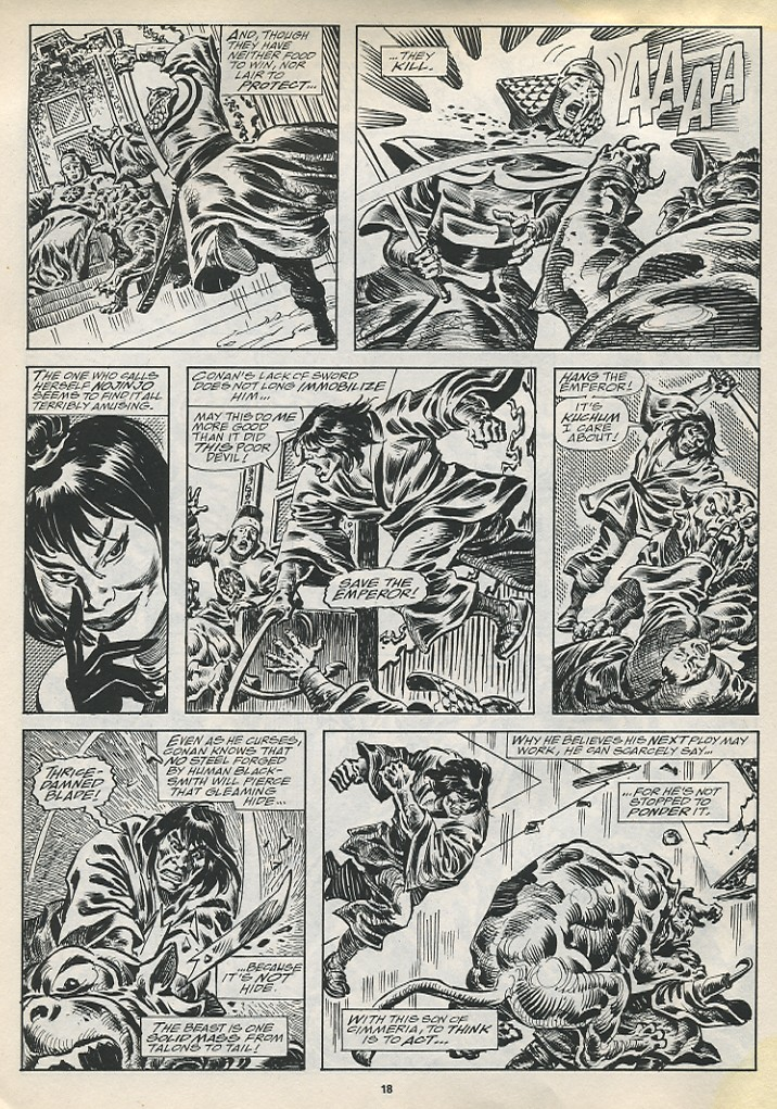 The Savage Sword Of Conan Issue #194 #195 - English 20
