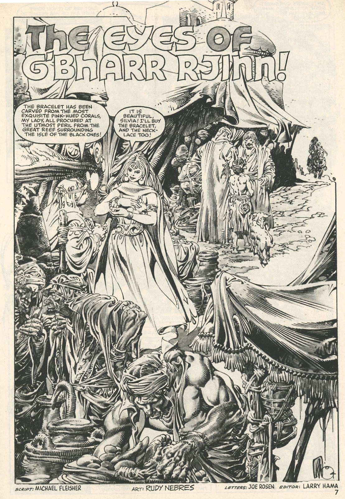 The Savage Sword Of Conan Issue #107 #108 - English 7