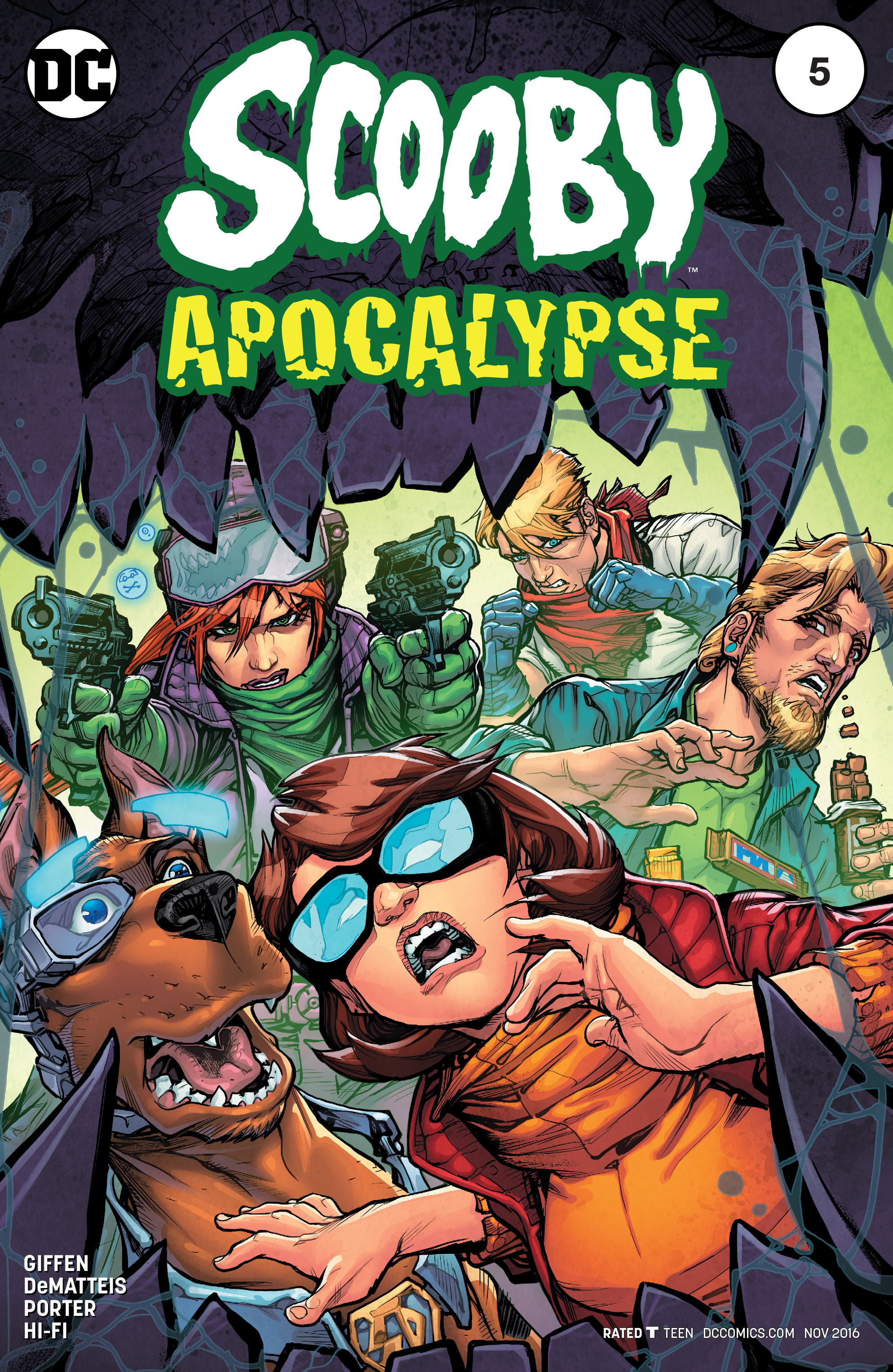 Scooby Apocalypse issue 5 - Page 1