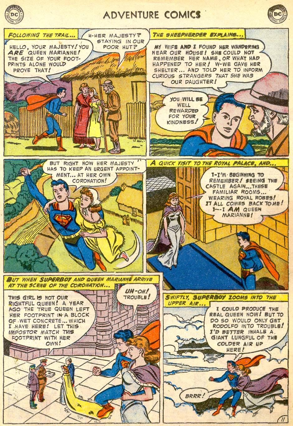 Read online Adventure Comics (1938) comic -  Issue #192 - 13