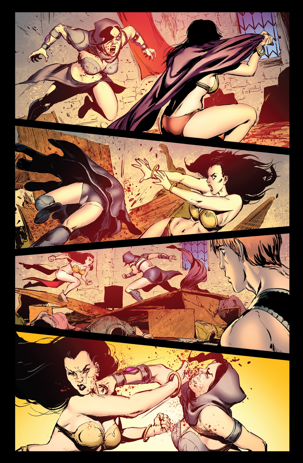 Queen of Vampires Issue #7 #7 - English 23