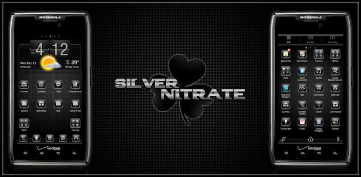Silver Nitrate Go Launcher apk
