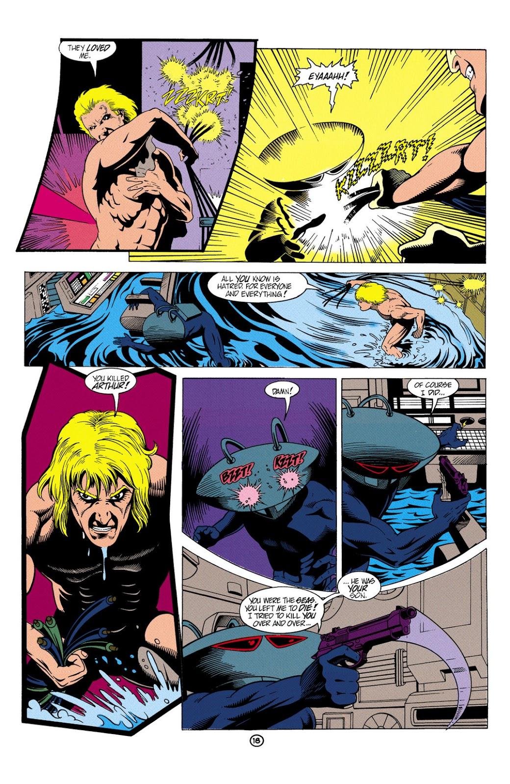 Aquaman (1991) Issue #6 #6 - English 19