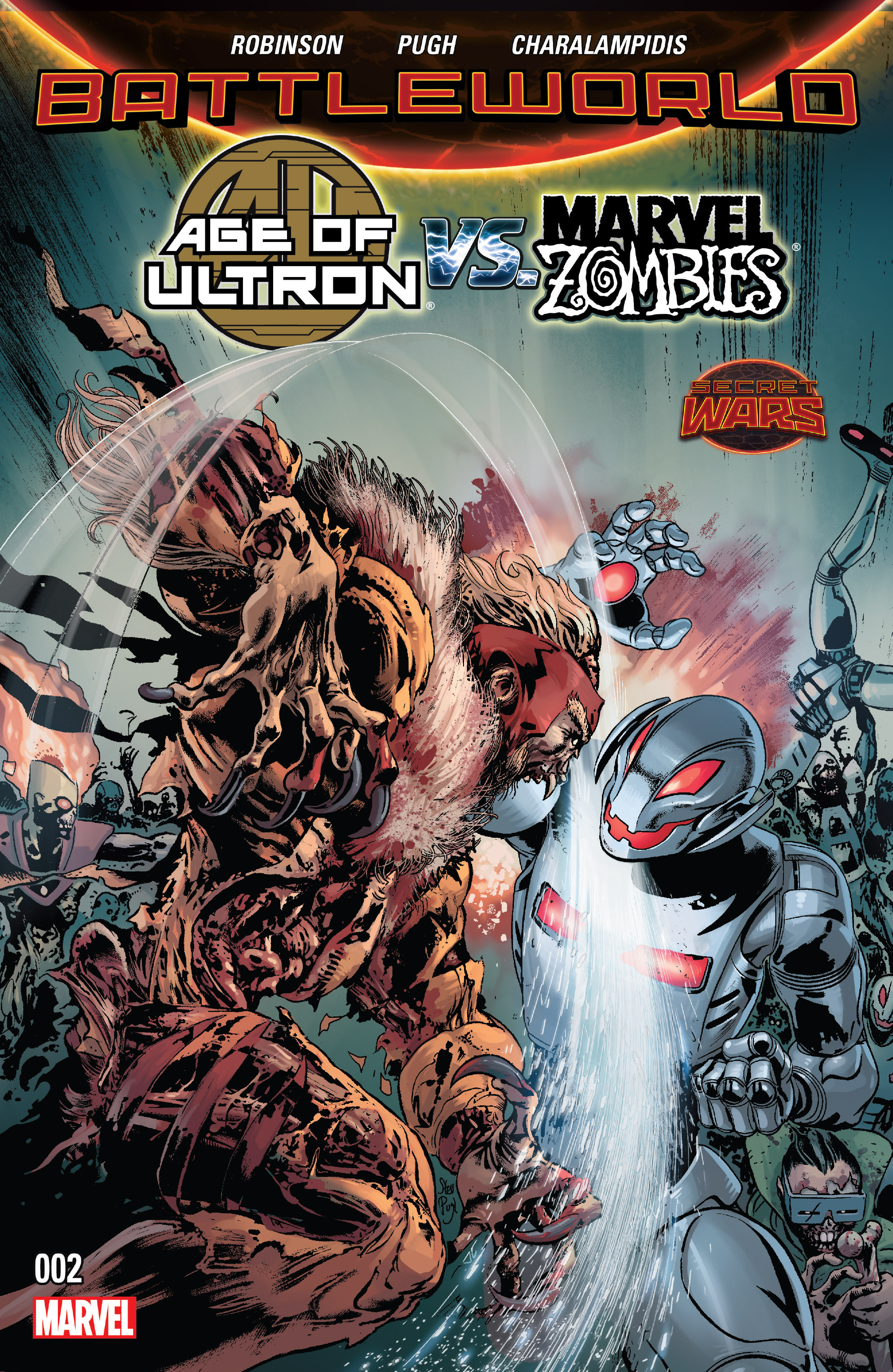 Age of Ultron Vs. Marvel Zombies 2 Page 1