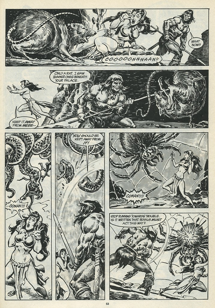 The Savage Sword Of Conan Issue #185 #186 - English 55