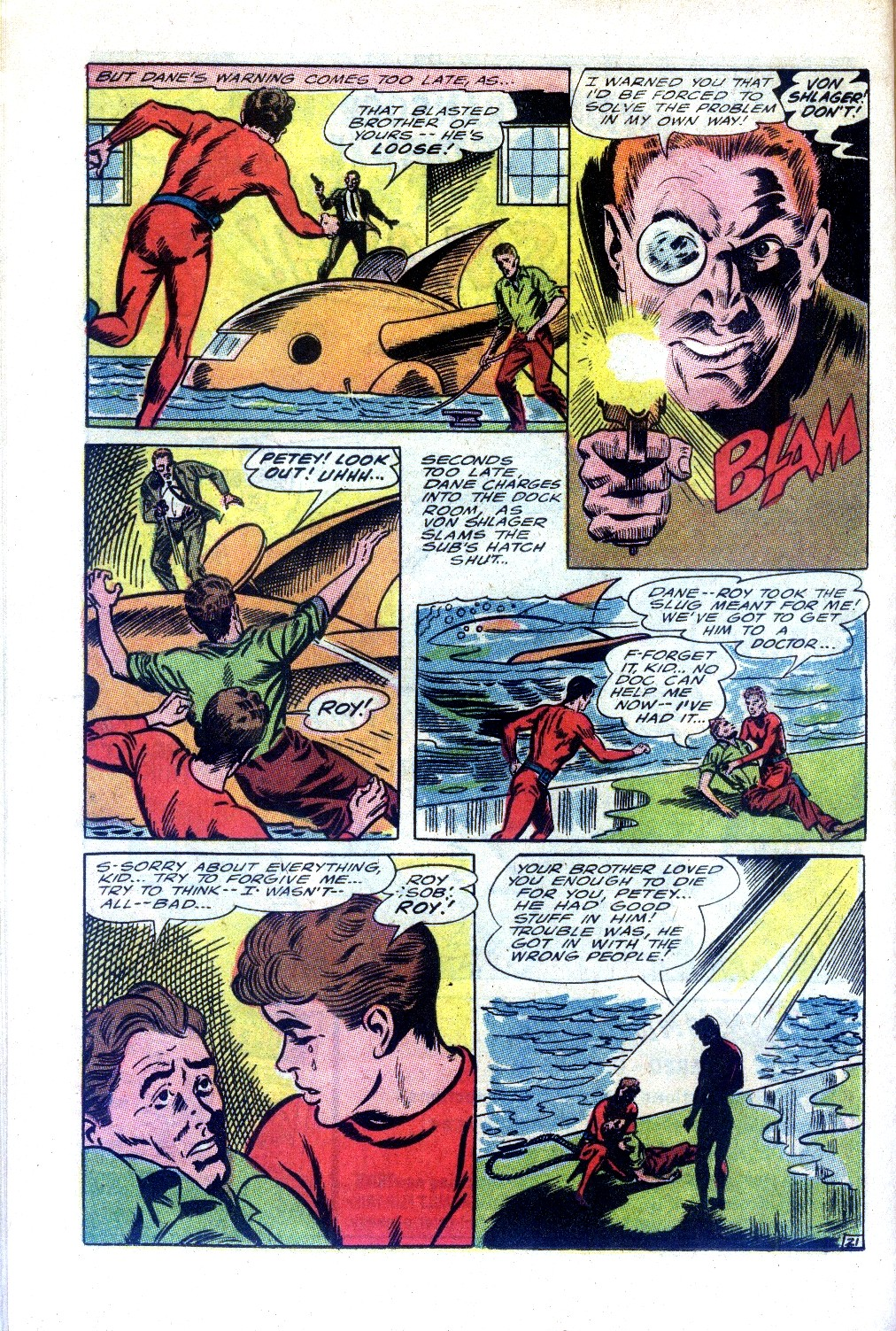 Read online Sea Devils comic -  Issue #27 - 29