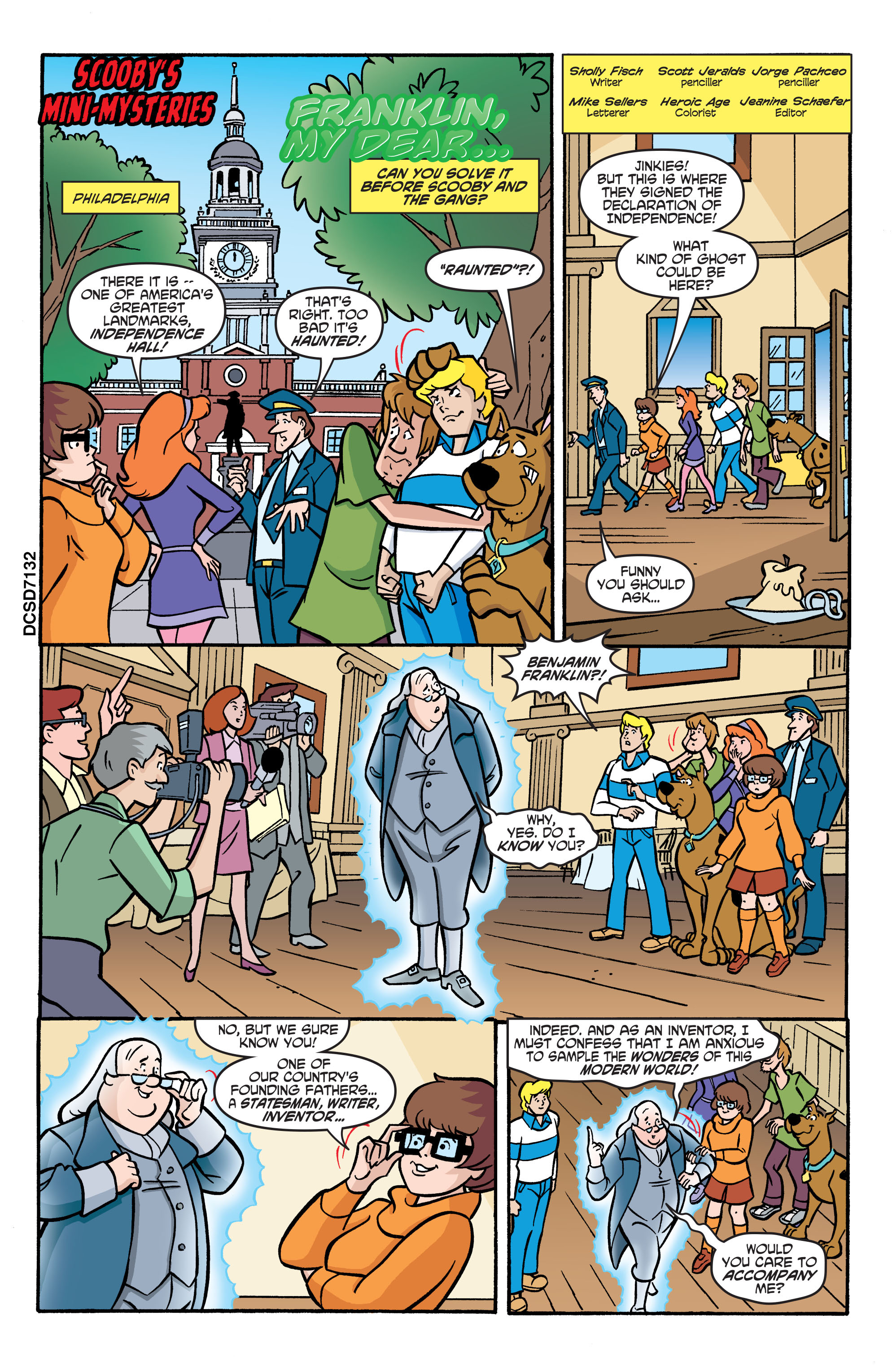 Read online Scooby-Doo: Where Are You? comic -  Issue #71 - 12