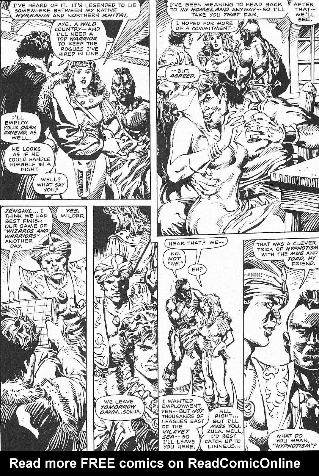 The Savage Sword Of Conan Issue #207 #208 - English 61