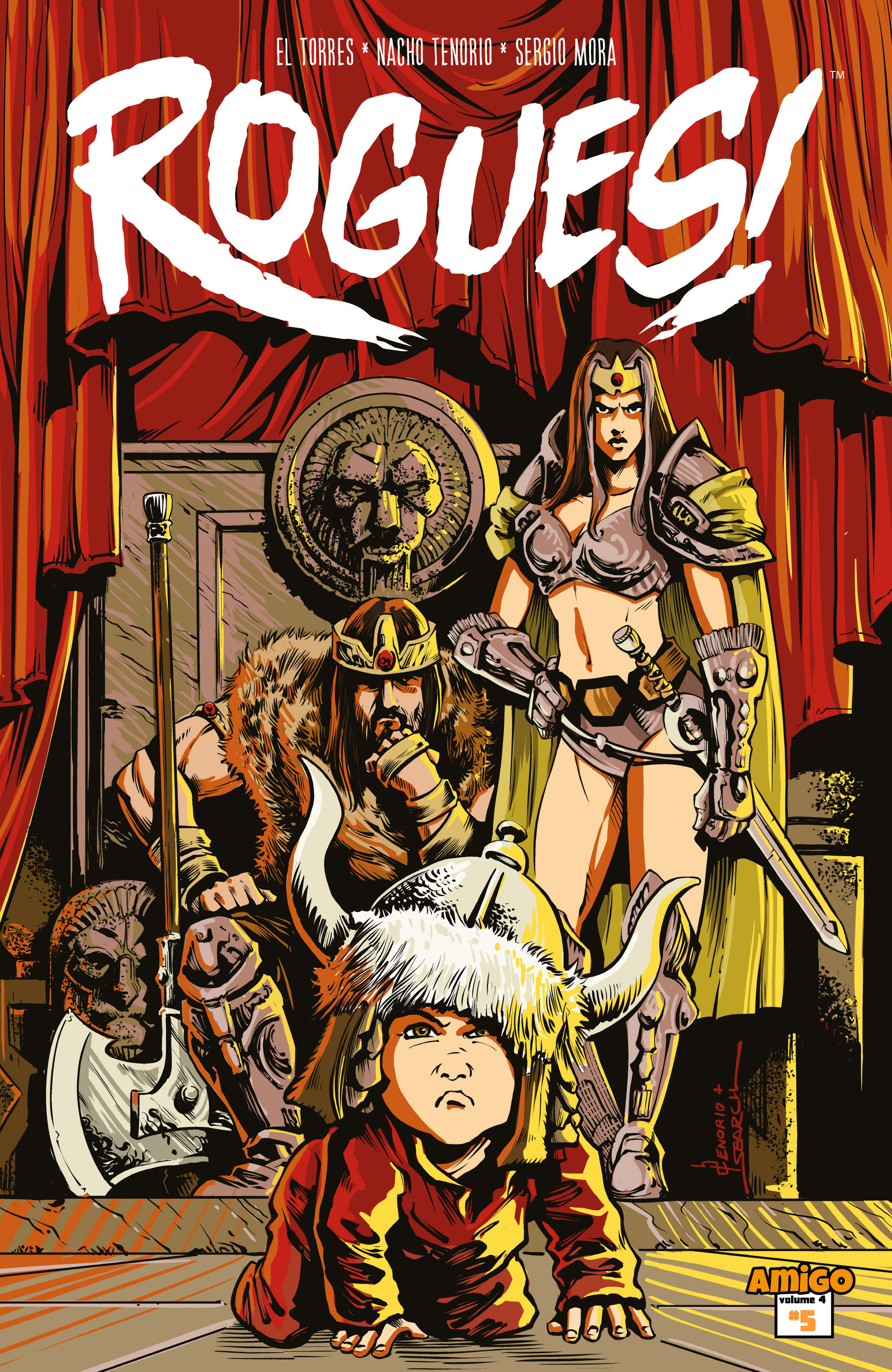 Rogues!  issue 5 - Page 1