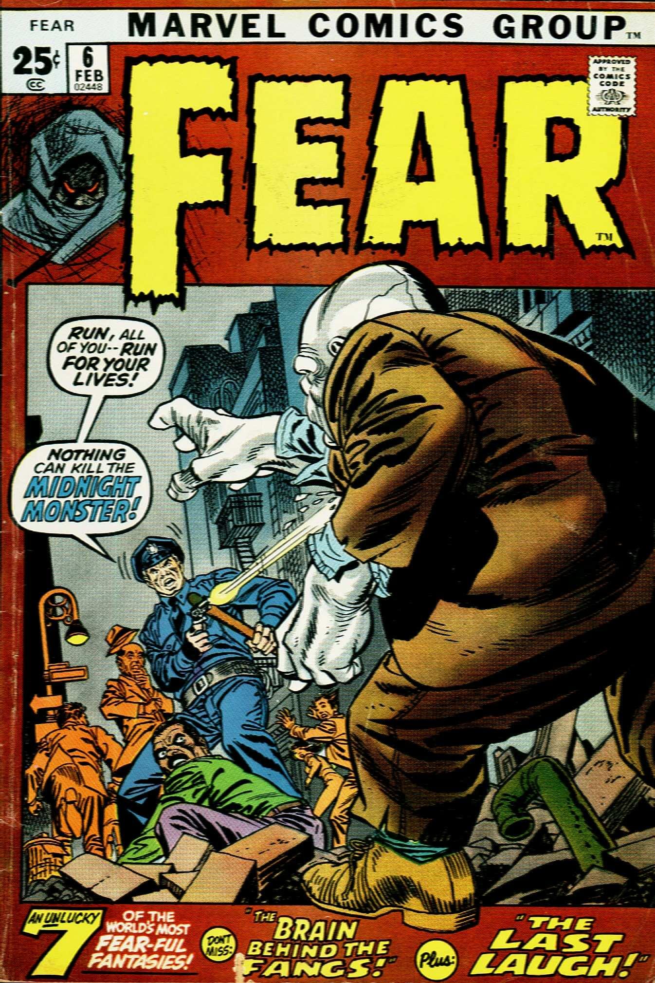Fear 6 Page 1