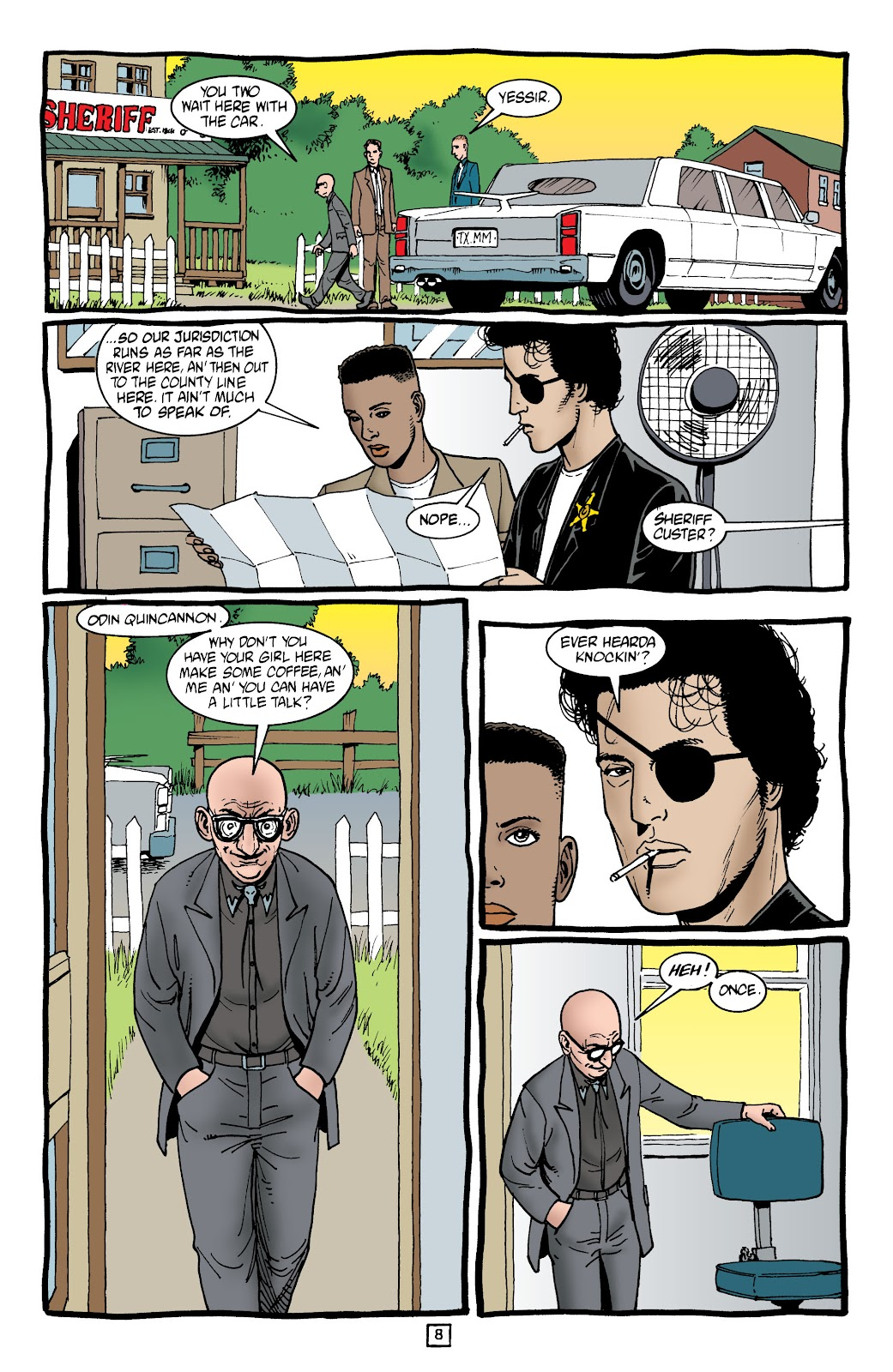 Preacher Issue #42 #51 - English 9