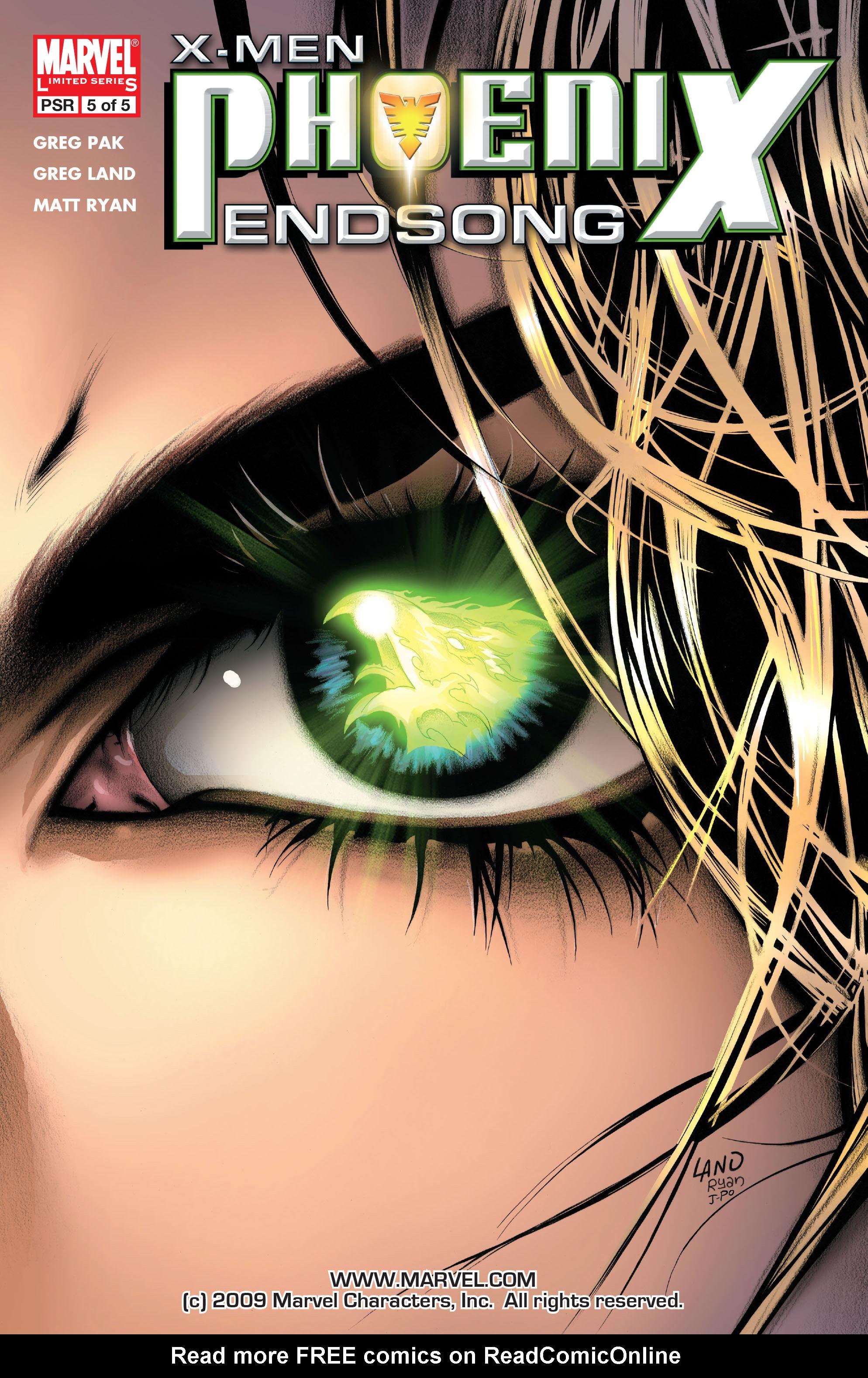 Read online X-Men: Phoenix - Endsong comic -  Issue #5 - 1