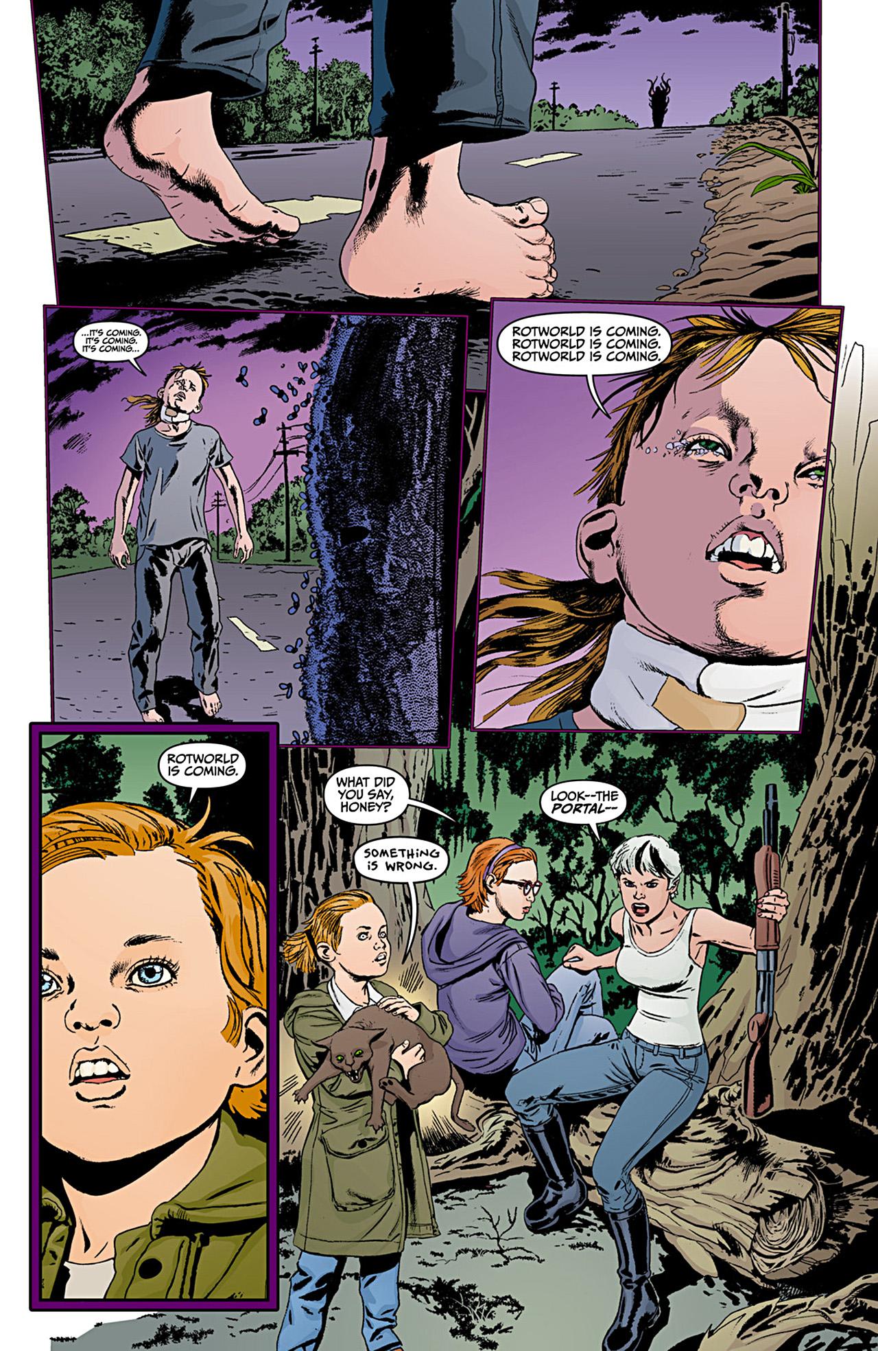 Read online Animal Man (2011) comic -  Issue #12 - 20
