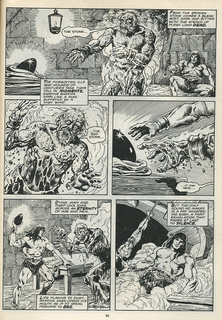 The Savage Sword Of Conan Issue #174 #175 - English 55