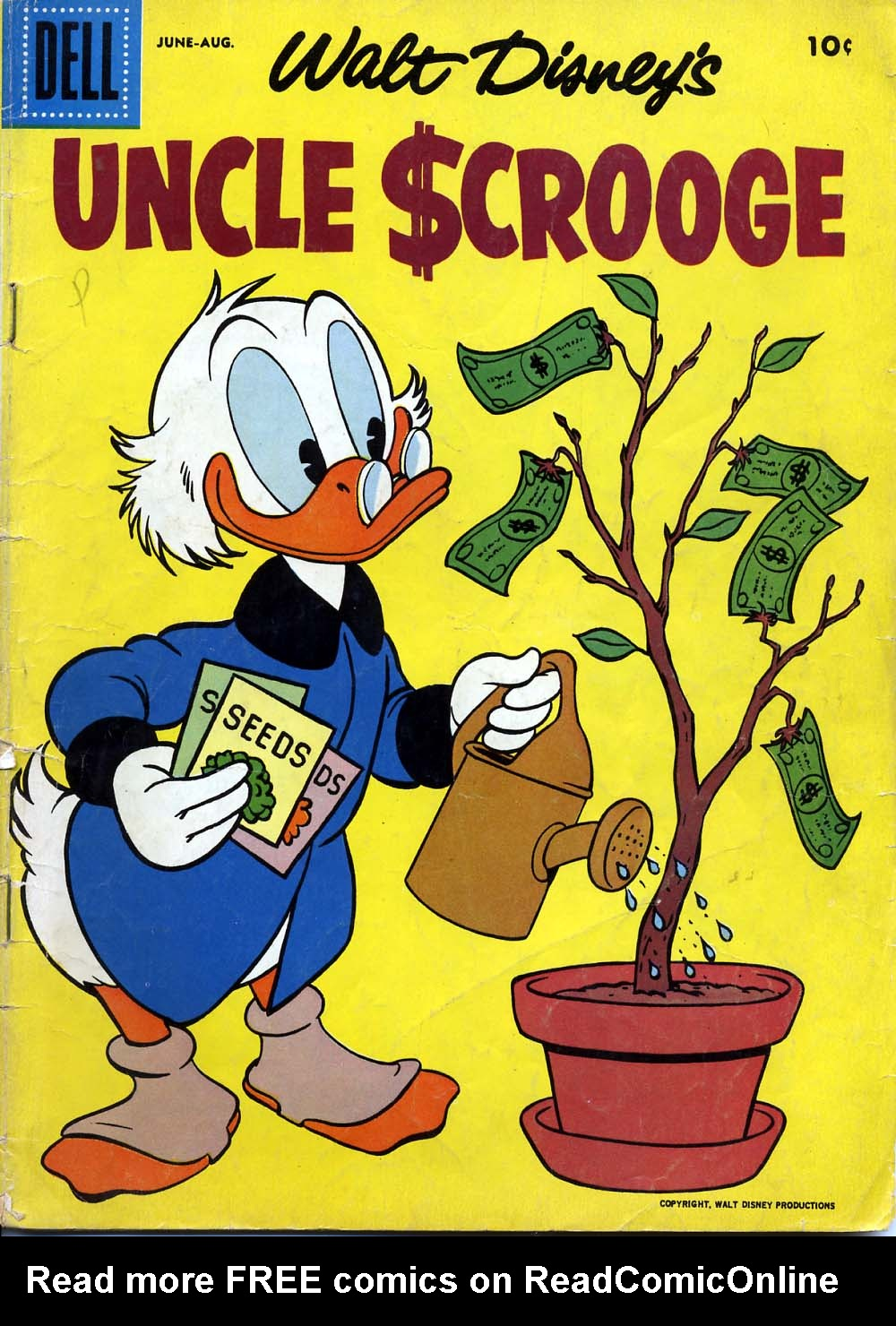 Uncle Scrooge (1953) Issue #18 #18 - English 1