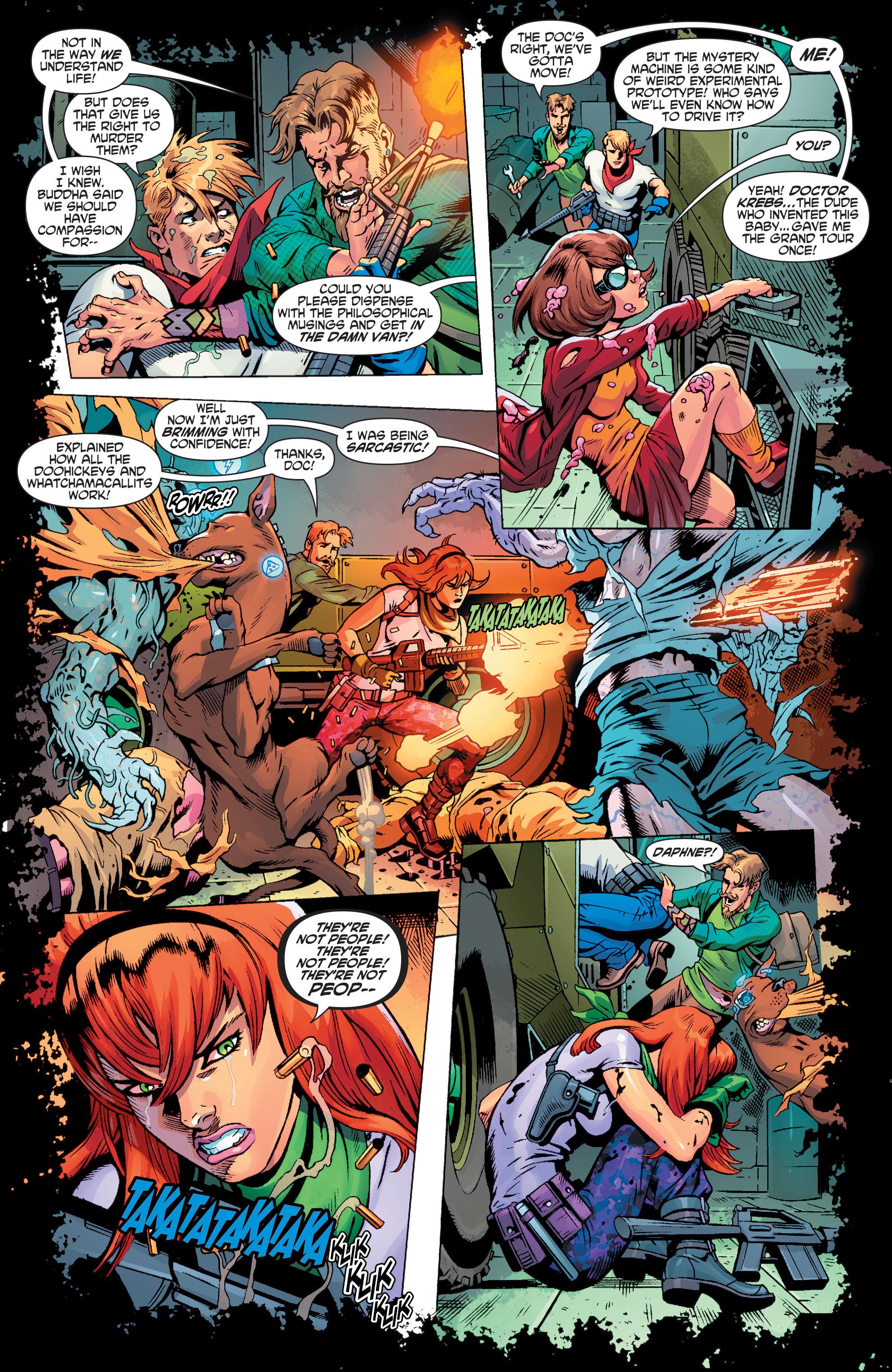 Read online Scooby Apocalypse comic -  Issue #3 - 9