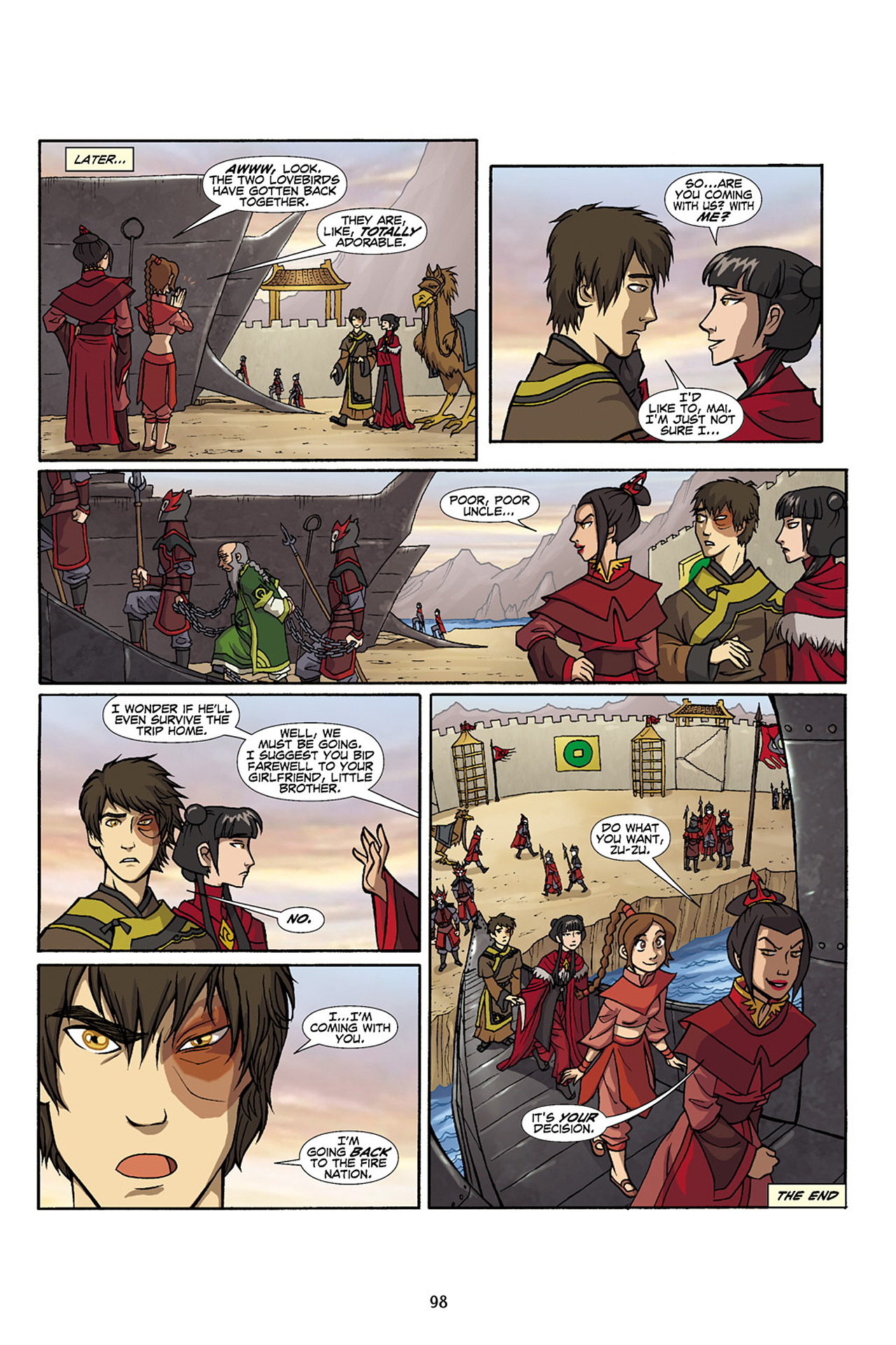 Nickelodeon Avatar: The Last Airbender - The Lost Adventures chap full pic 99
