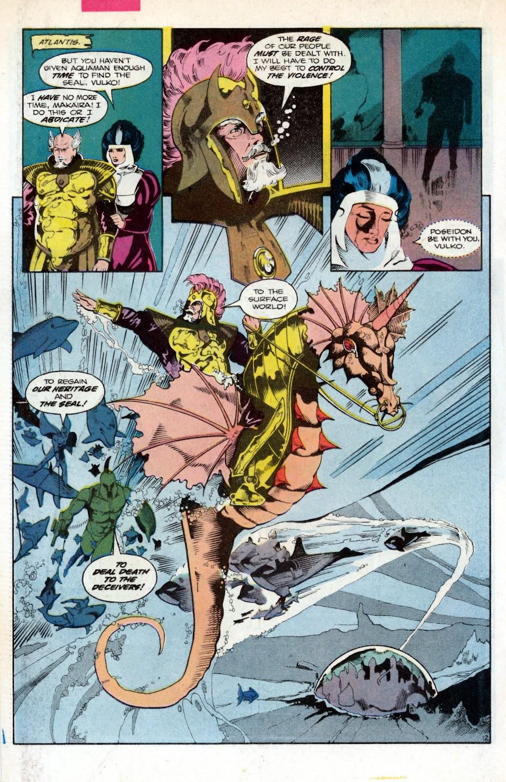 Aquaman (1986) Issue #2 #2 - English 18