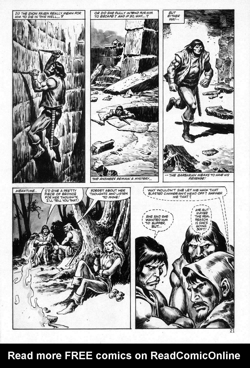 The Savage Sword Of Conan Issue #95 #96 - English 21