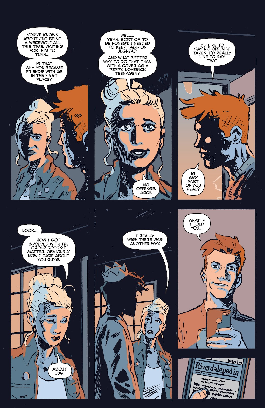 Jughead The Hunger Issue #0 #1 - English 31