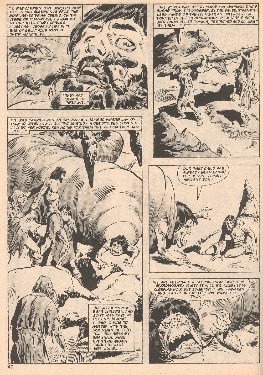 The Savage Sword Of Conan Issue #70 #71 - English 40