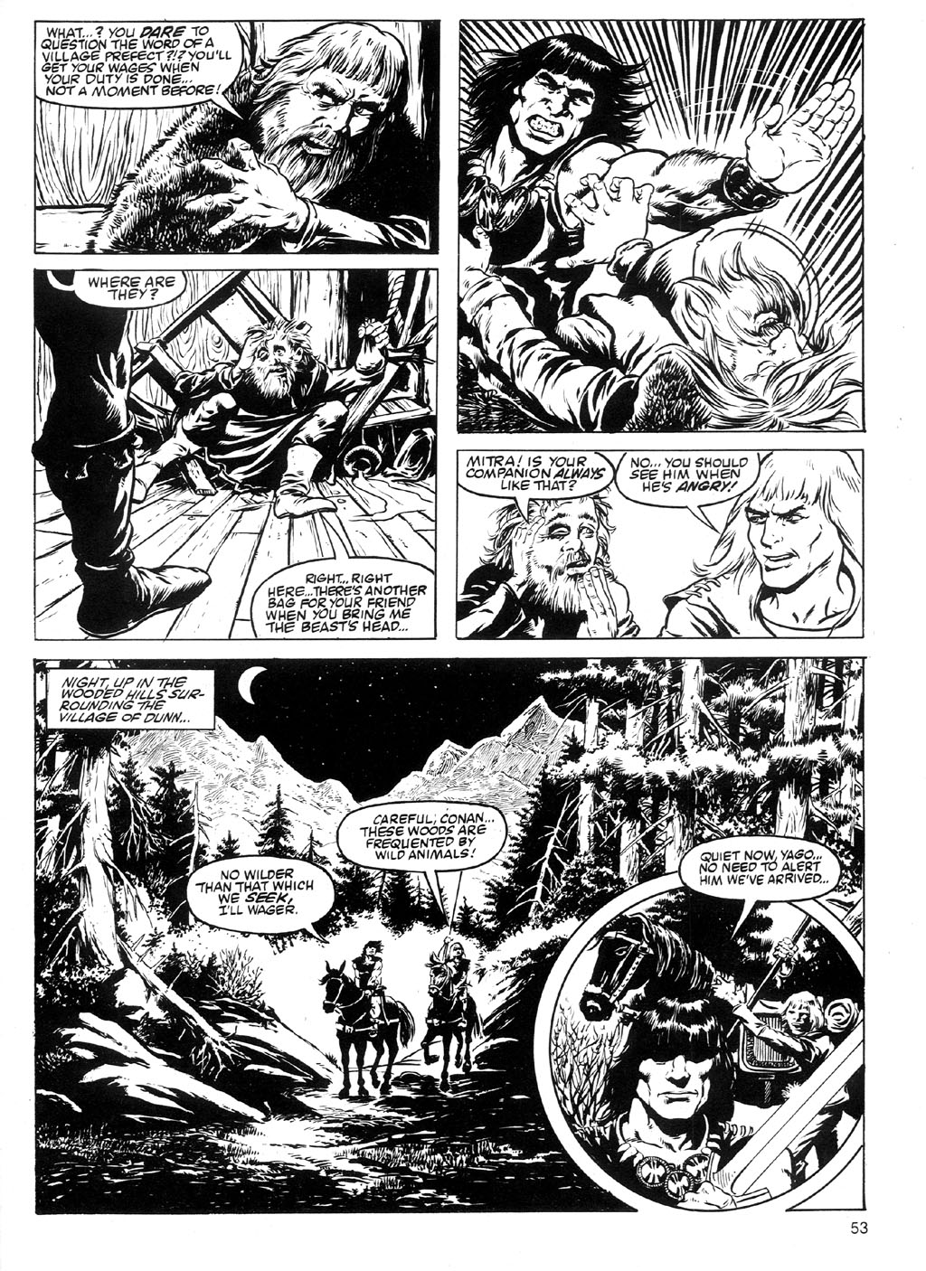 The Savage Sword Of Conan Issue #91 #92 - English 50