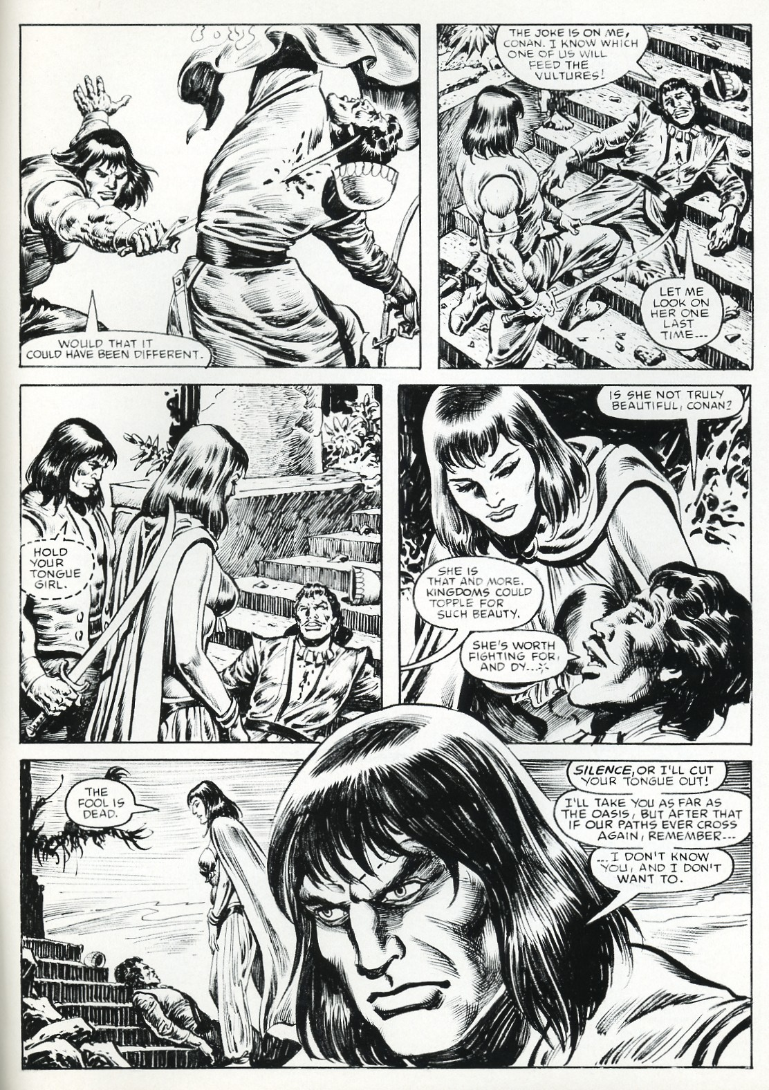 The Savage Sword Of Conan Issue #111 #112 - English 70