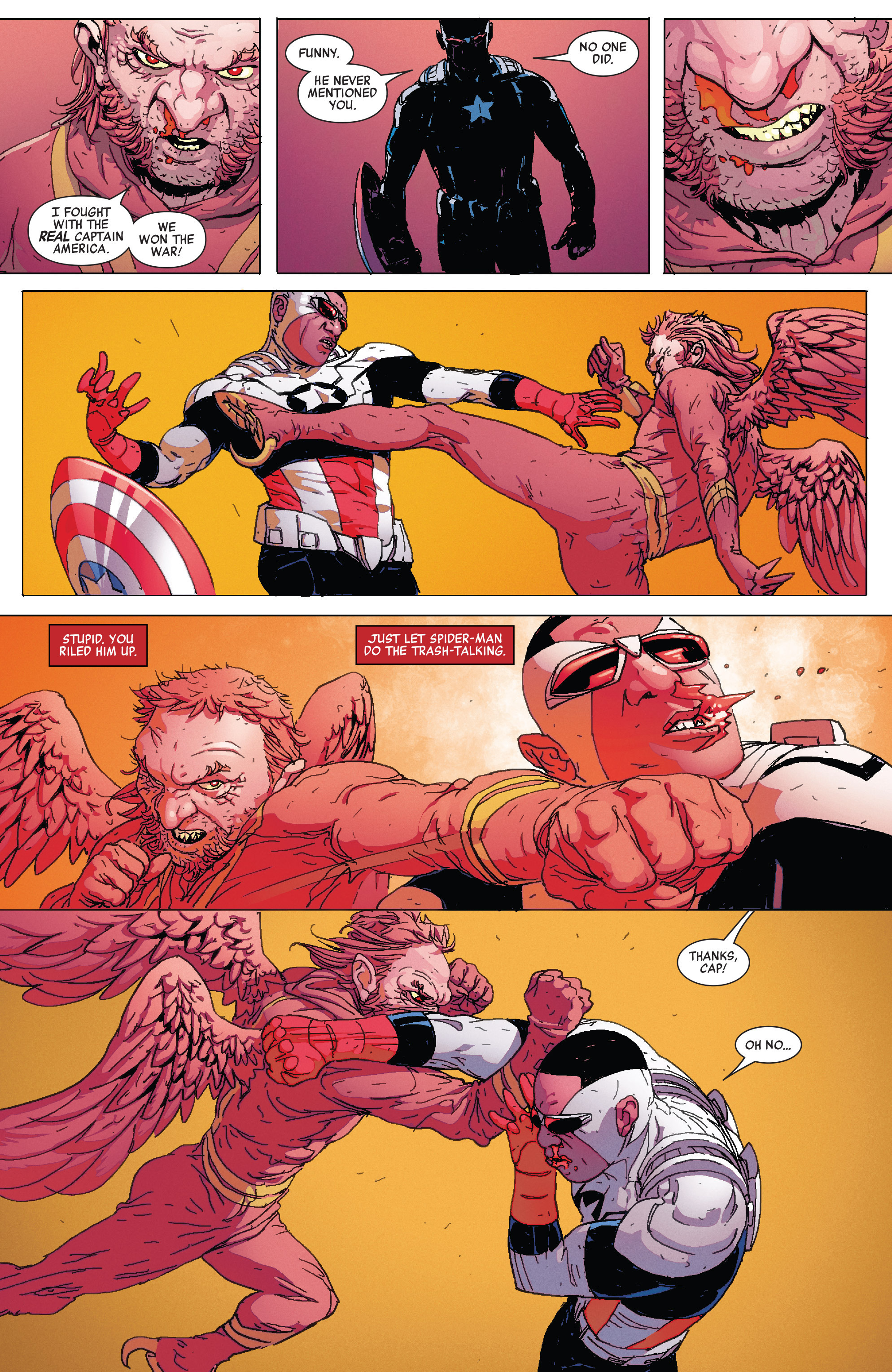 Read online All-New Captain America comic -  Issue # _Special 1 - 9