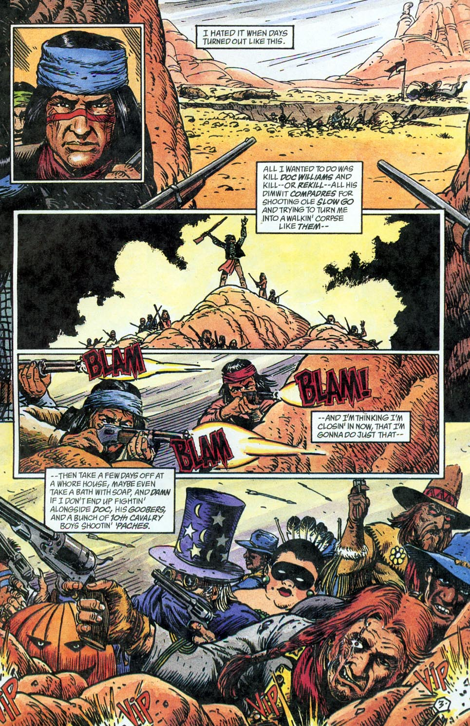 Jonah Hex: Two-Gun Mojo Issue #5 #5 - English 5