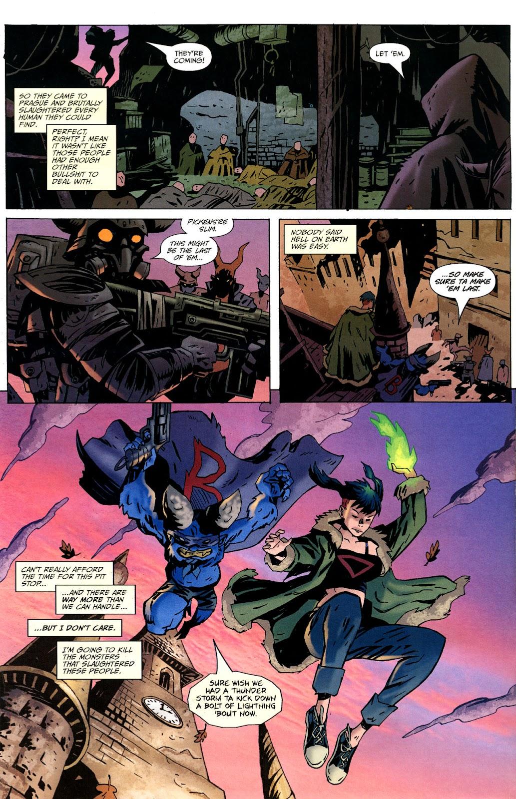 Strange Girl Issue #16 #17 - English 4