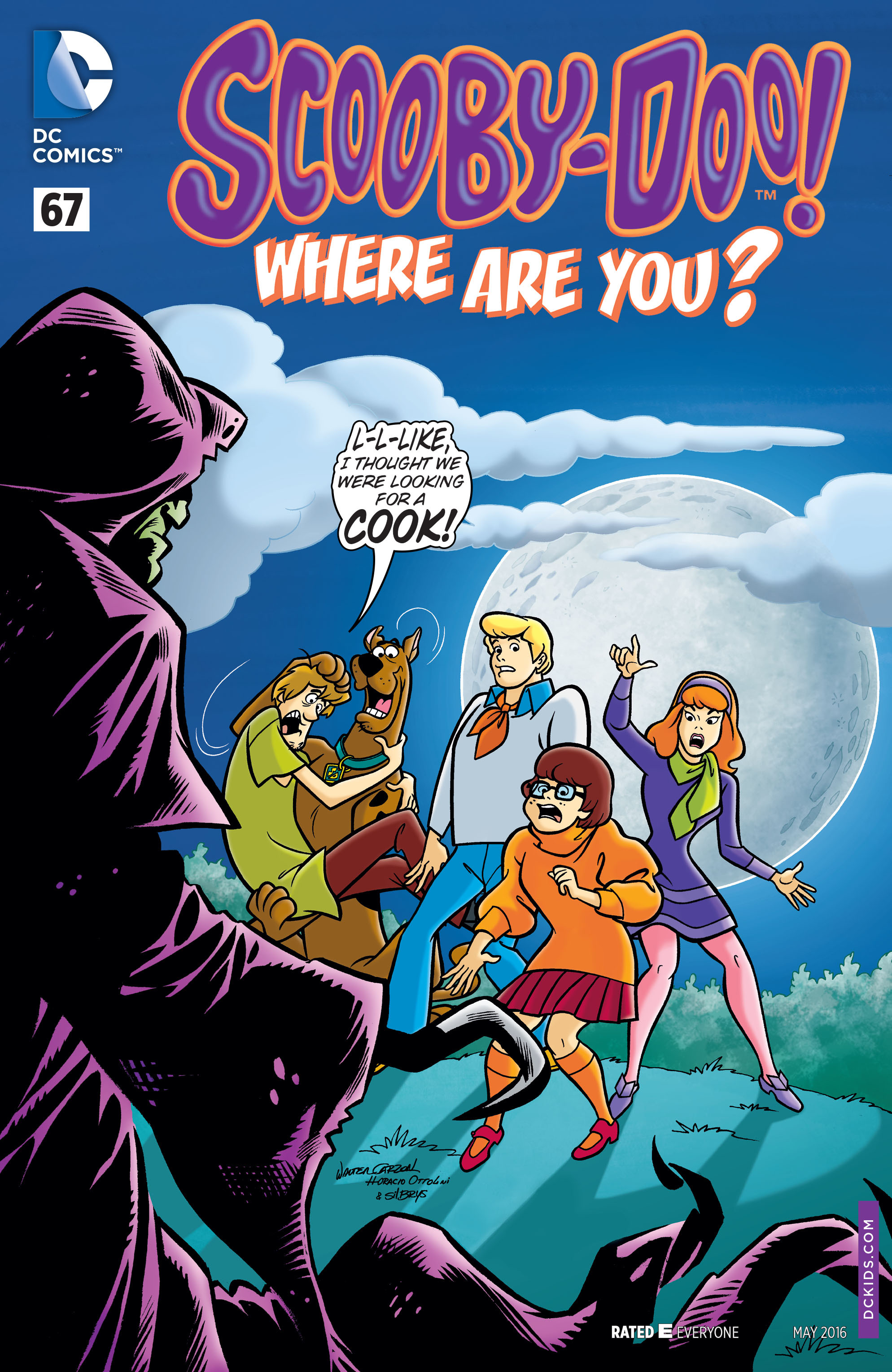 Read online Scooby-Doo: Where Are You? comic -  Issue #67 - 1