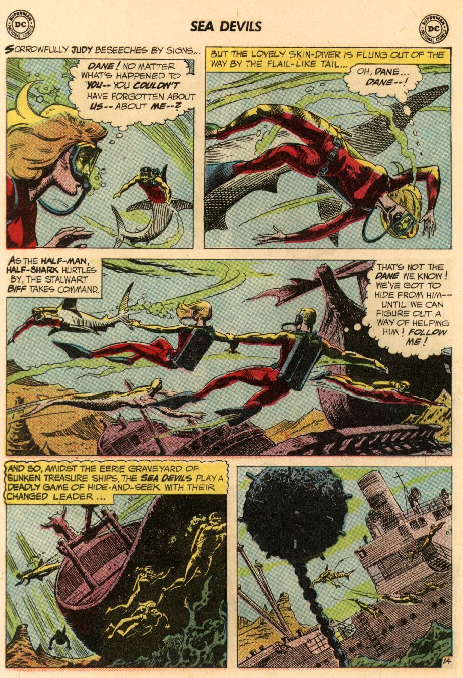 Read online Sea Devils comic -  Issue #8 - 21