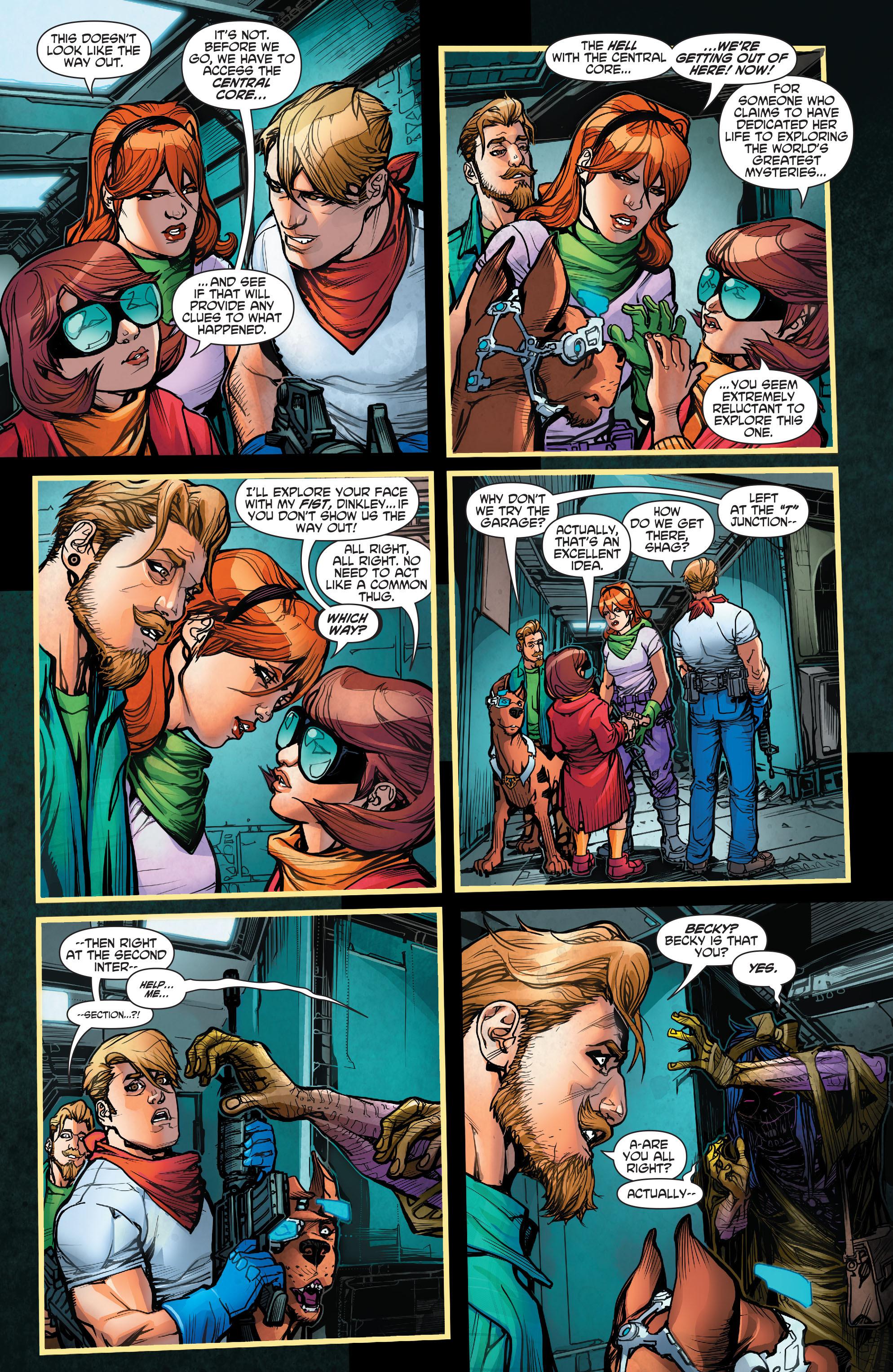 Read online Scooby Apocalypse comic -  Issue #2 - 16