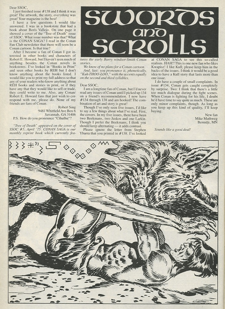 The Savage Sword Of Conan Issue #141 #142 - English 4
